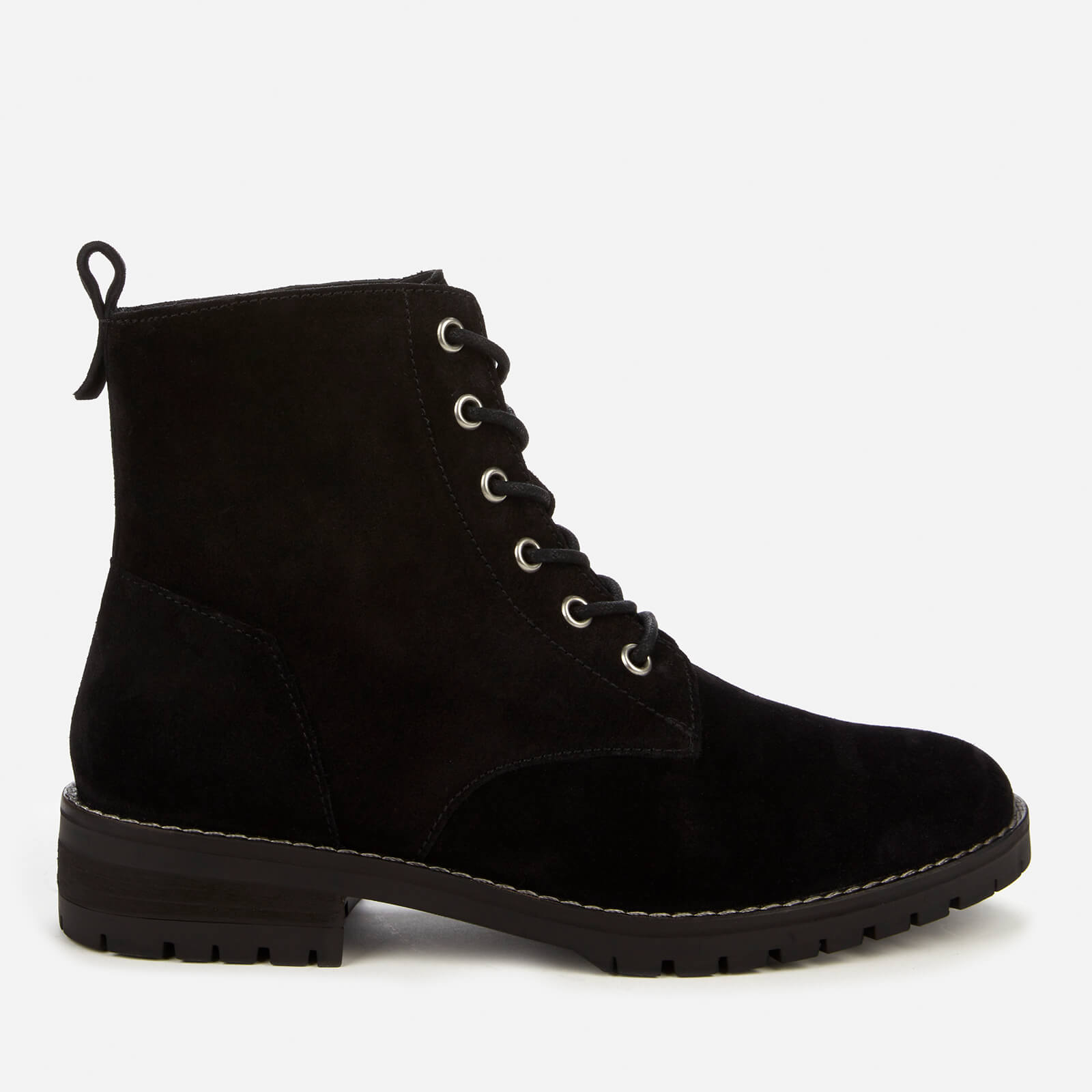 Superdry Women's Commando Lace Up Boots - Black - Uk 6
