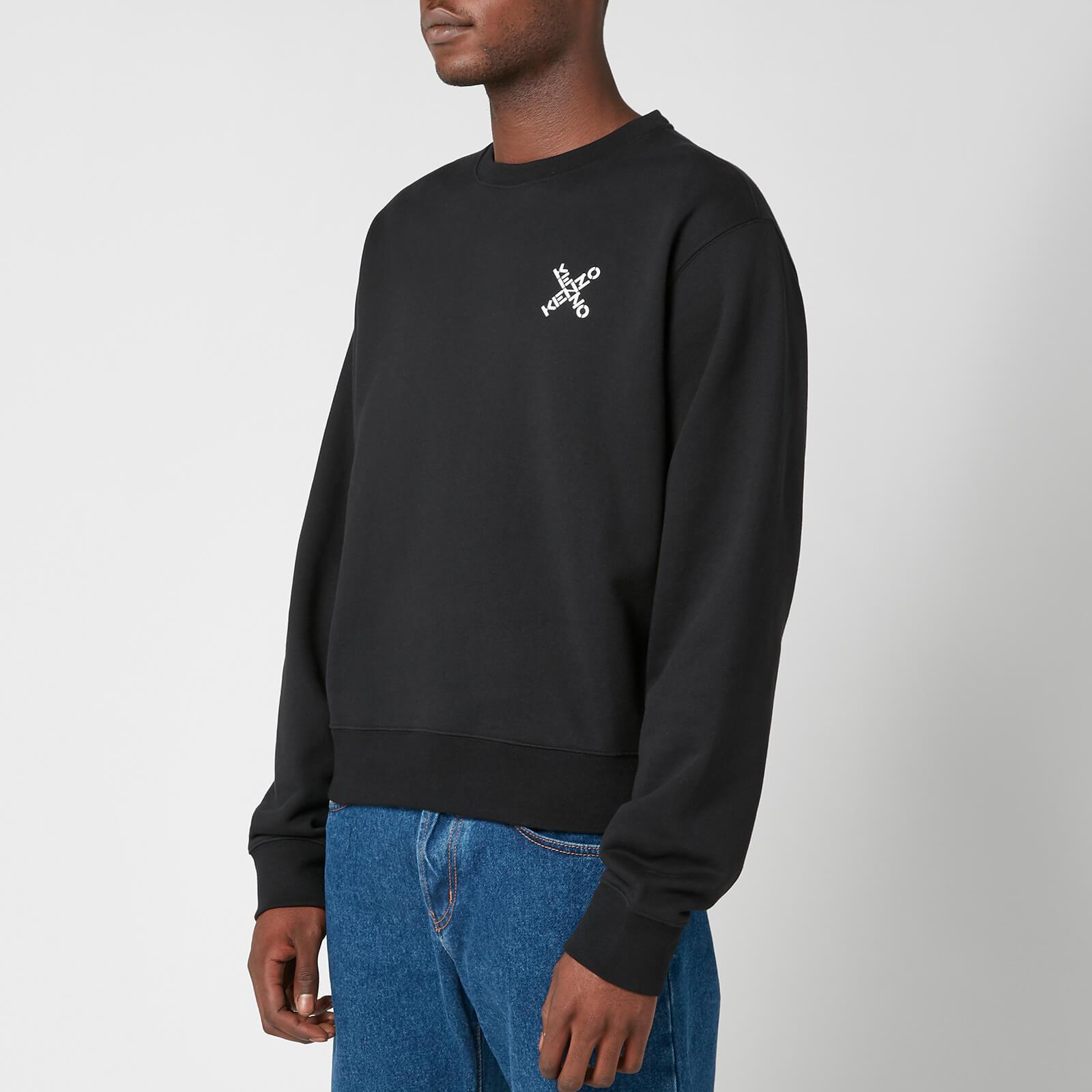 KENZO Men's Sport Classic Sweatshirt - Black