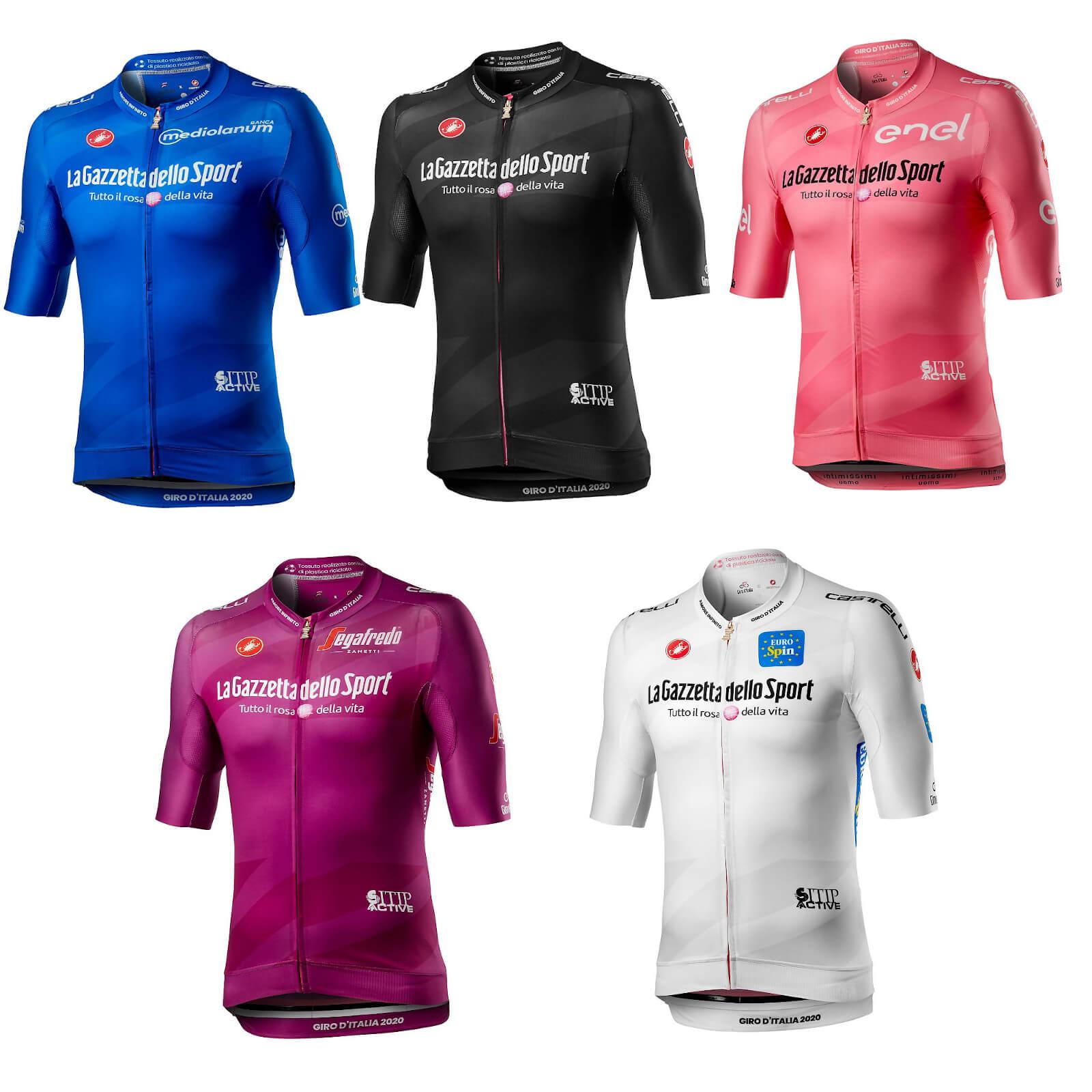 Castelli Giro D'Italia 103 Race Jersey - S - Schwarz