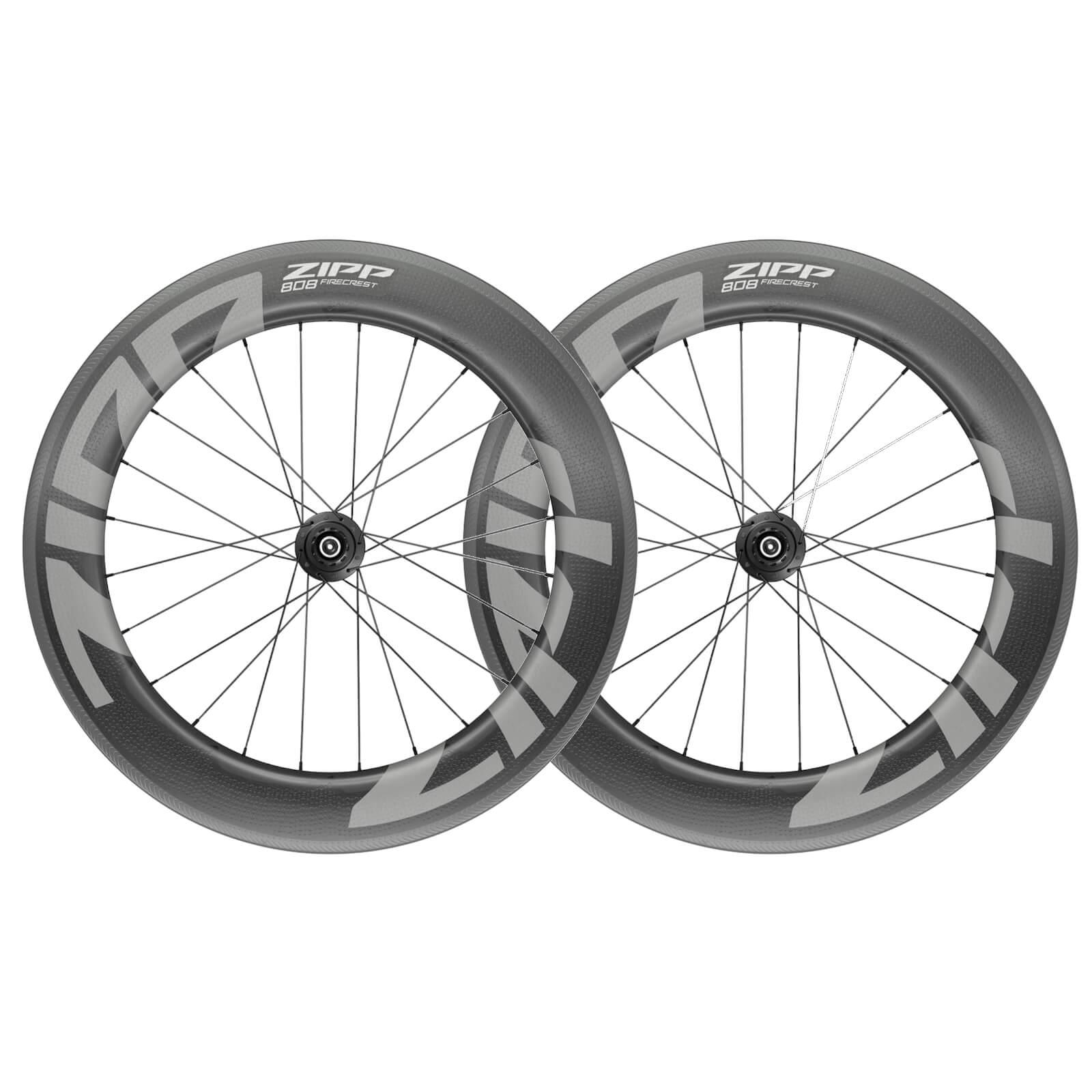 Image of Zipp 808 Firecrest Carbon Clincher Wheelset - Shimano/SRAM