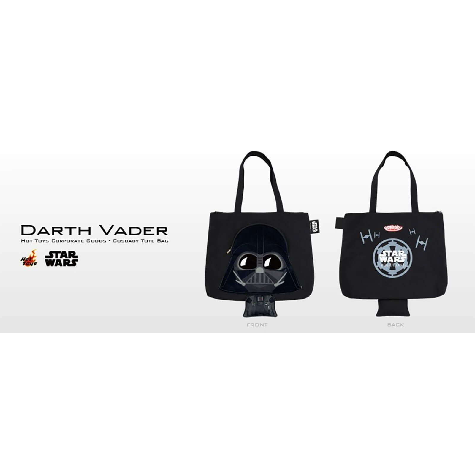 Hot Toys Cosbaby Star Wars Tote Bag - Darth Vader
