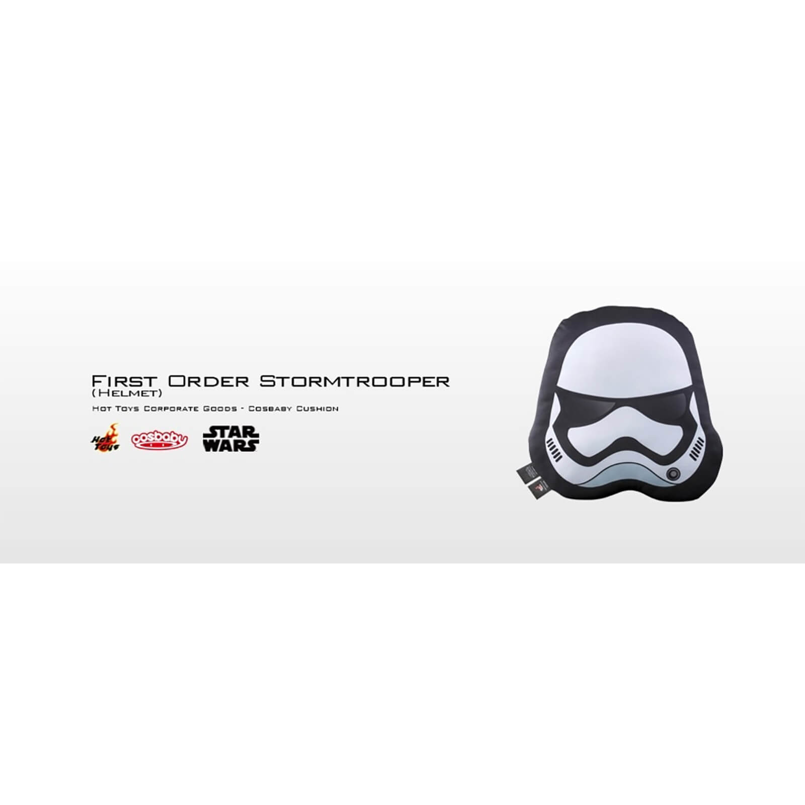 Hot Toys Cosbaby Star Wars Cushion - TFA First Order Stormtrooper