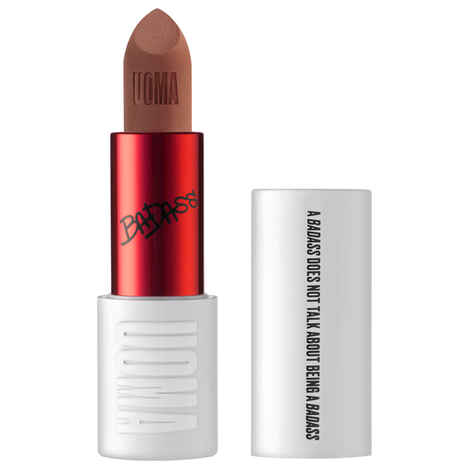 UOMA Beauty Badass Icon Concentrated Matte Lipstick 3.5ml (Various Shades) - Aretha