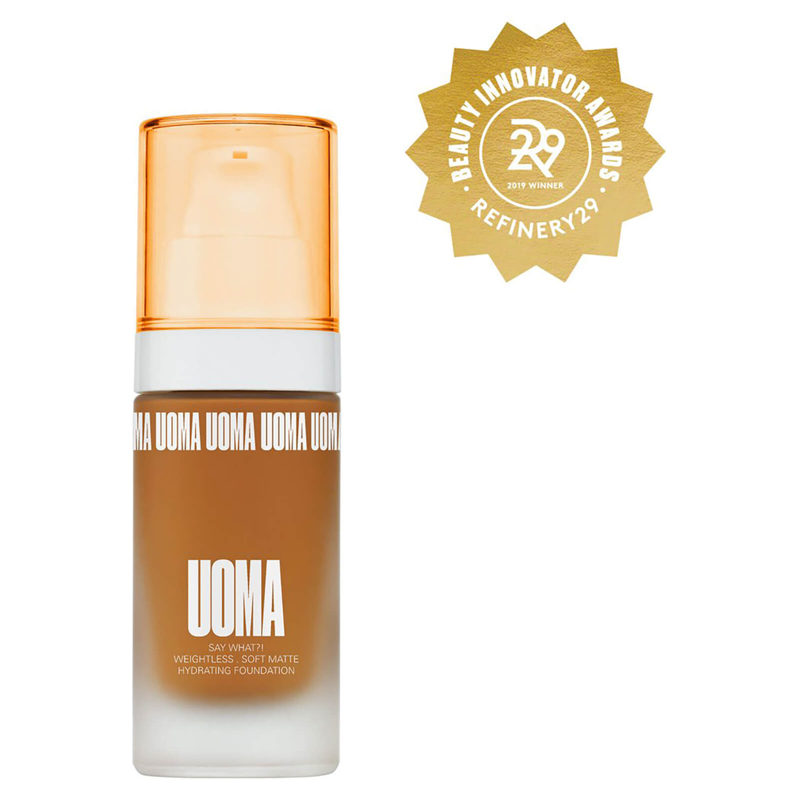 UOMA Beauty Say What Foundation 30ml (Various Shades) - Brown Sugar T1W