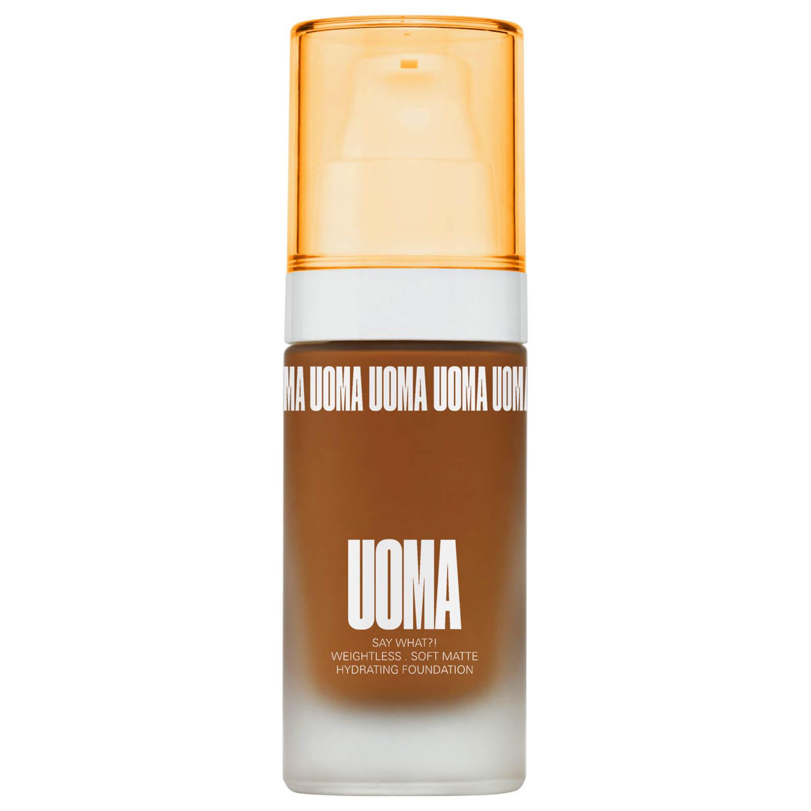Купить UOMA Beauty Say What Foundation 30ml (Various Shades) - Brown Sugar T2C