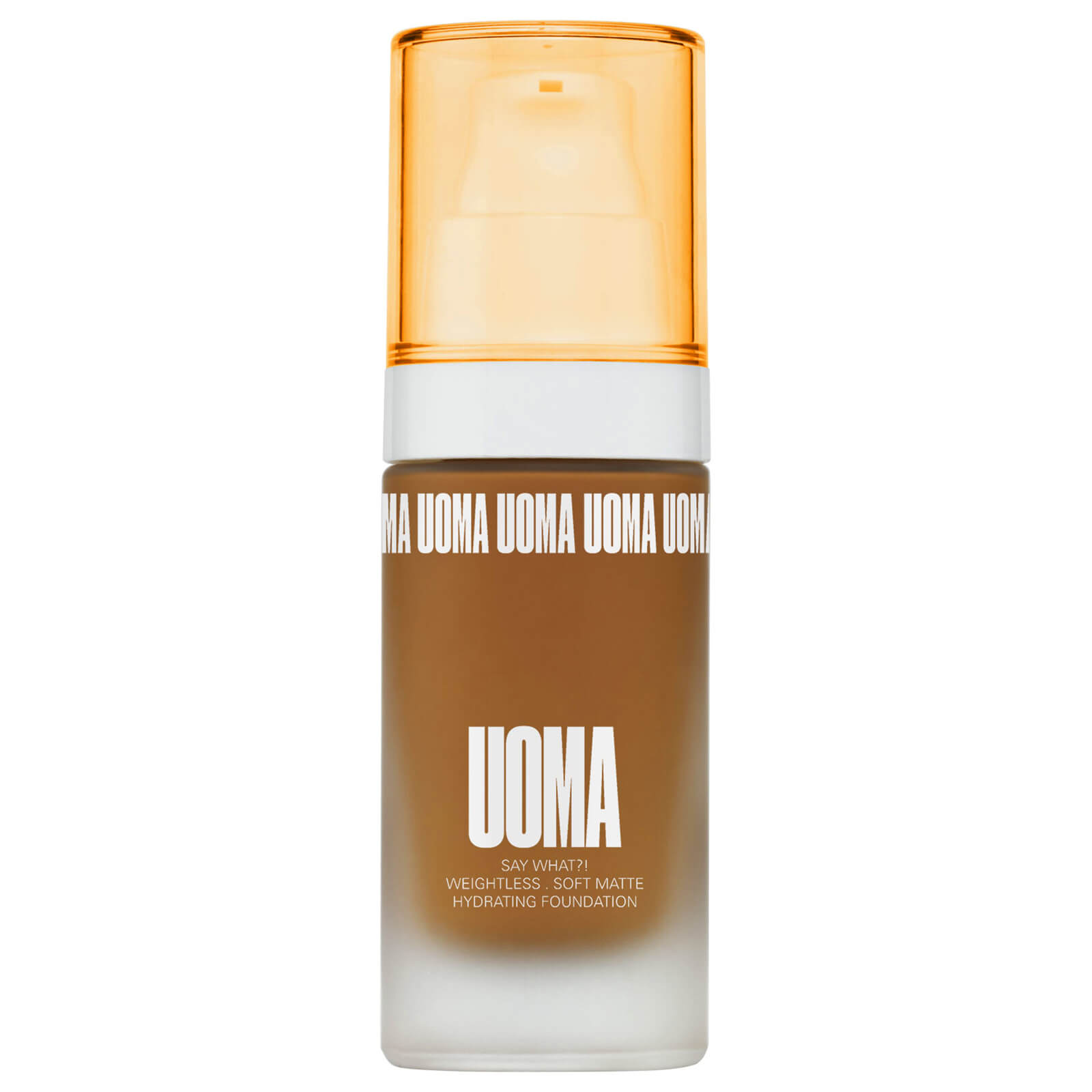 UOMA Beauty Say What Foundation 30ml (Various Shades) - Brown Sugar T2N