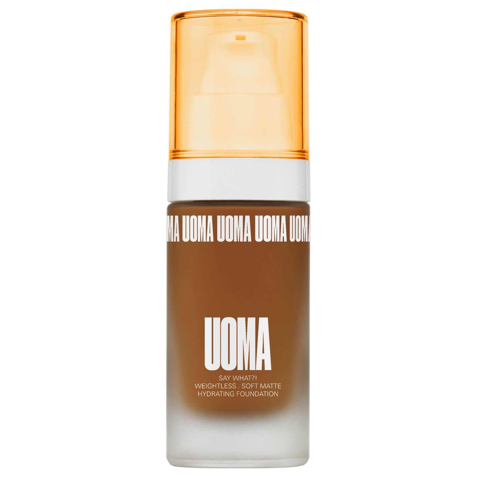 Купить UOMA Beauty Say What Foundation 30ml (Various Shades) - Brown Sugar T3N