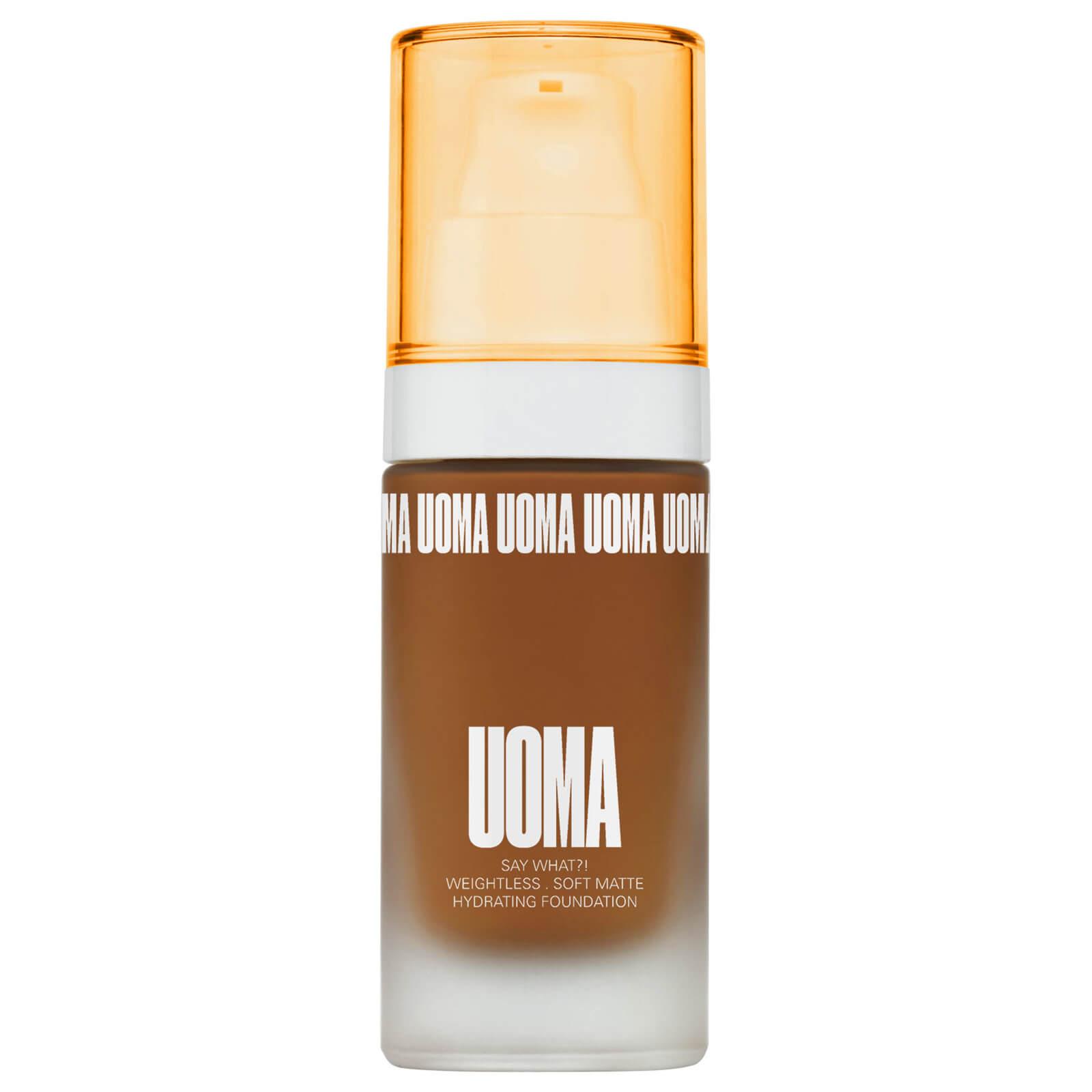 Купить UOMA Beauty Say What Foundation 30ml (Various Shades) - Brown Sugar T4N