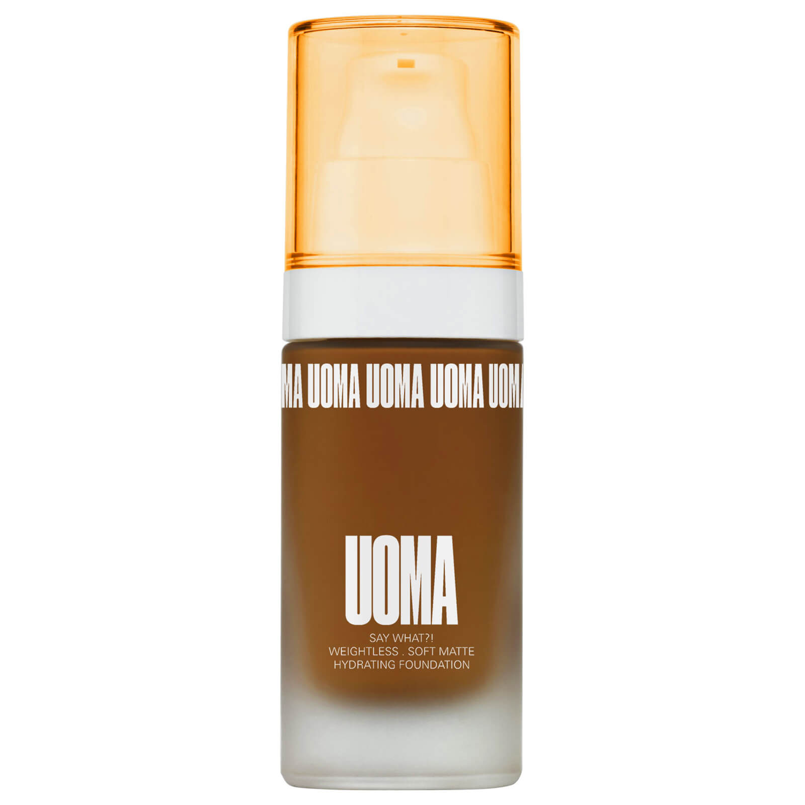 UOMA Beauty Say What Foundation 30ml (Various Shades) - Brown Sugar T4W