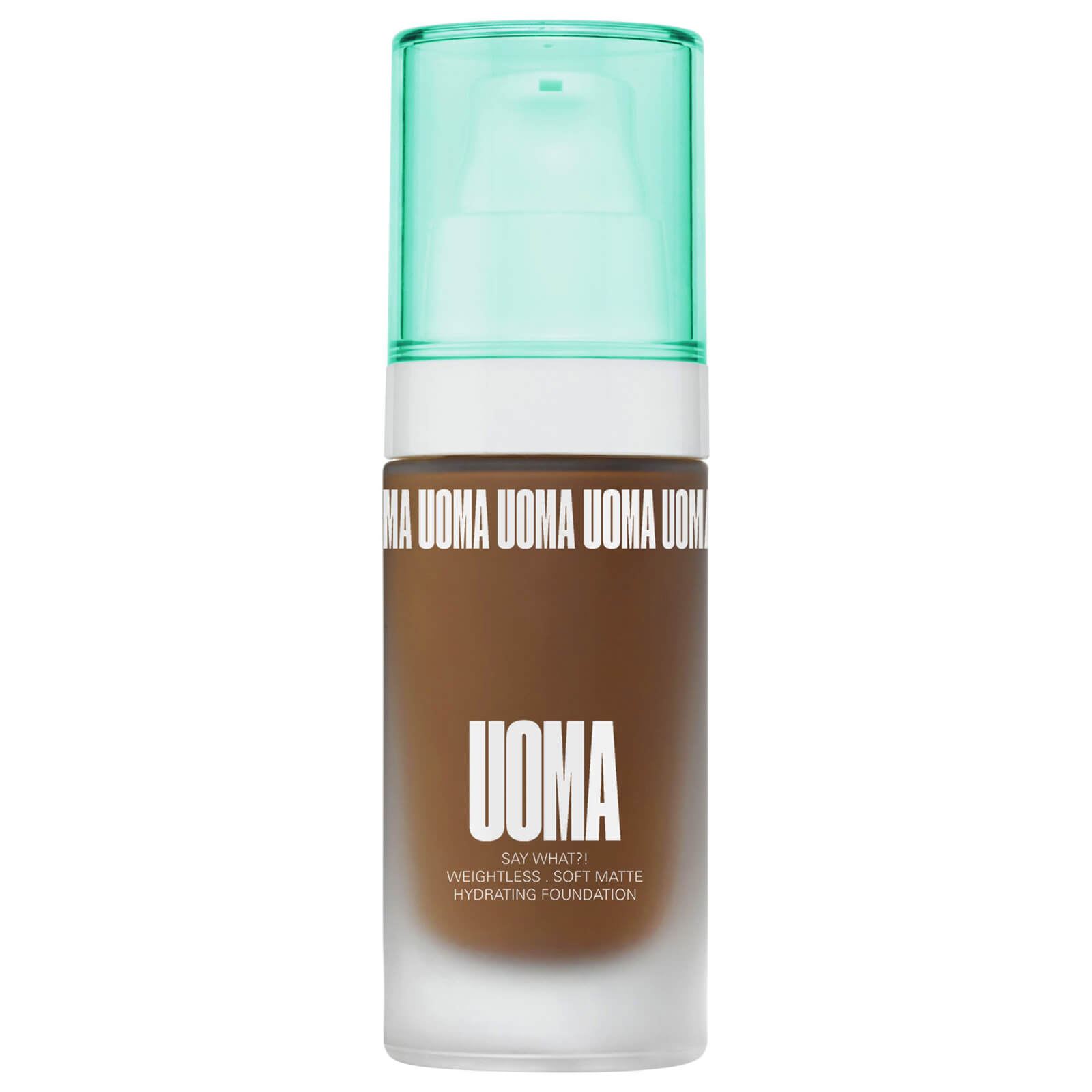 UOMA Beauty Say What Foundation 30ml (Various Shades) - Black Pearl T1W