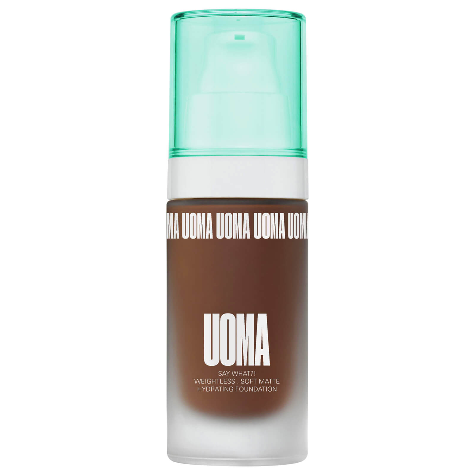 UOMA Beauty Say What Foundation 30ml (Various Shades) - Black Pearl T2N