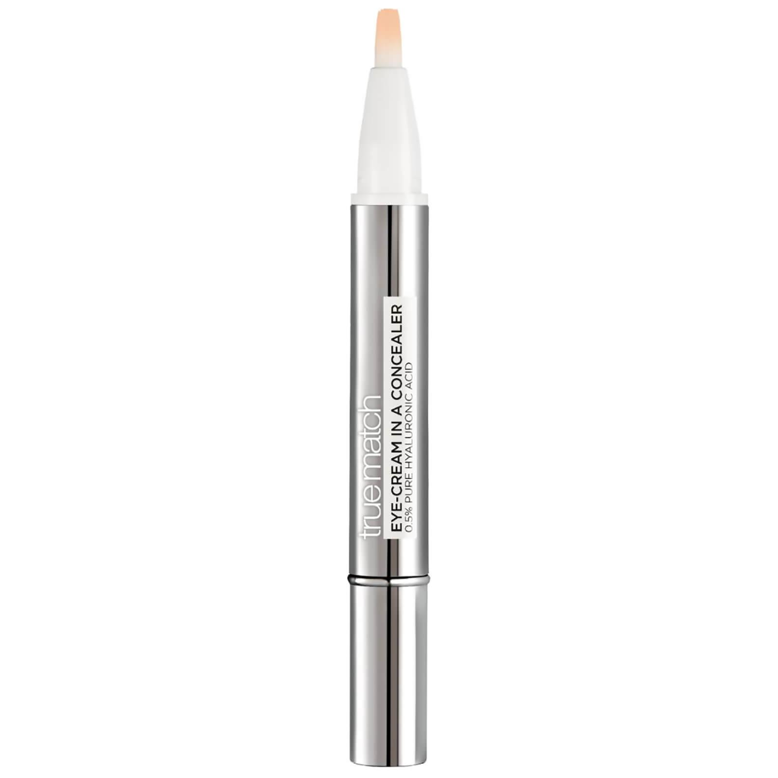 L'Oréal Paris True Match Eye Cream in a Concealer SPF20 (Various Shades) - 1-2D Ivory Beige
