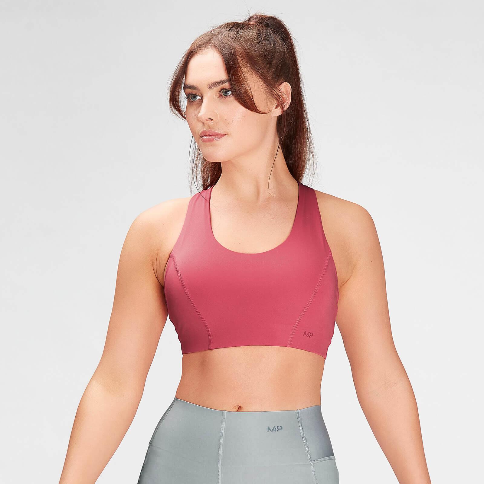 Купить MP Women's Composure Sports Bra- Berry Pink - XXS, Myprotein International