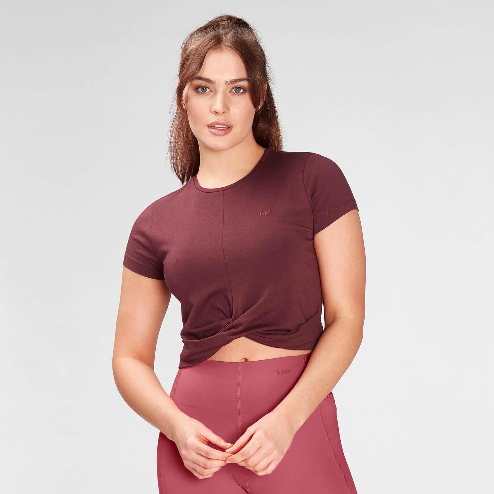 Купить MP Women's Composure T-Shirt- Washed Oxblood - XXS, Myprotein International