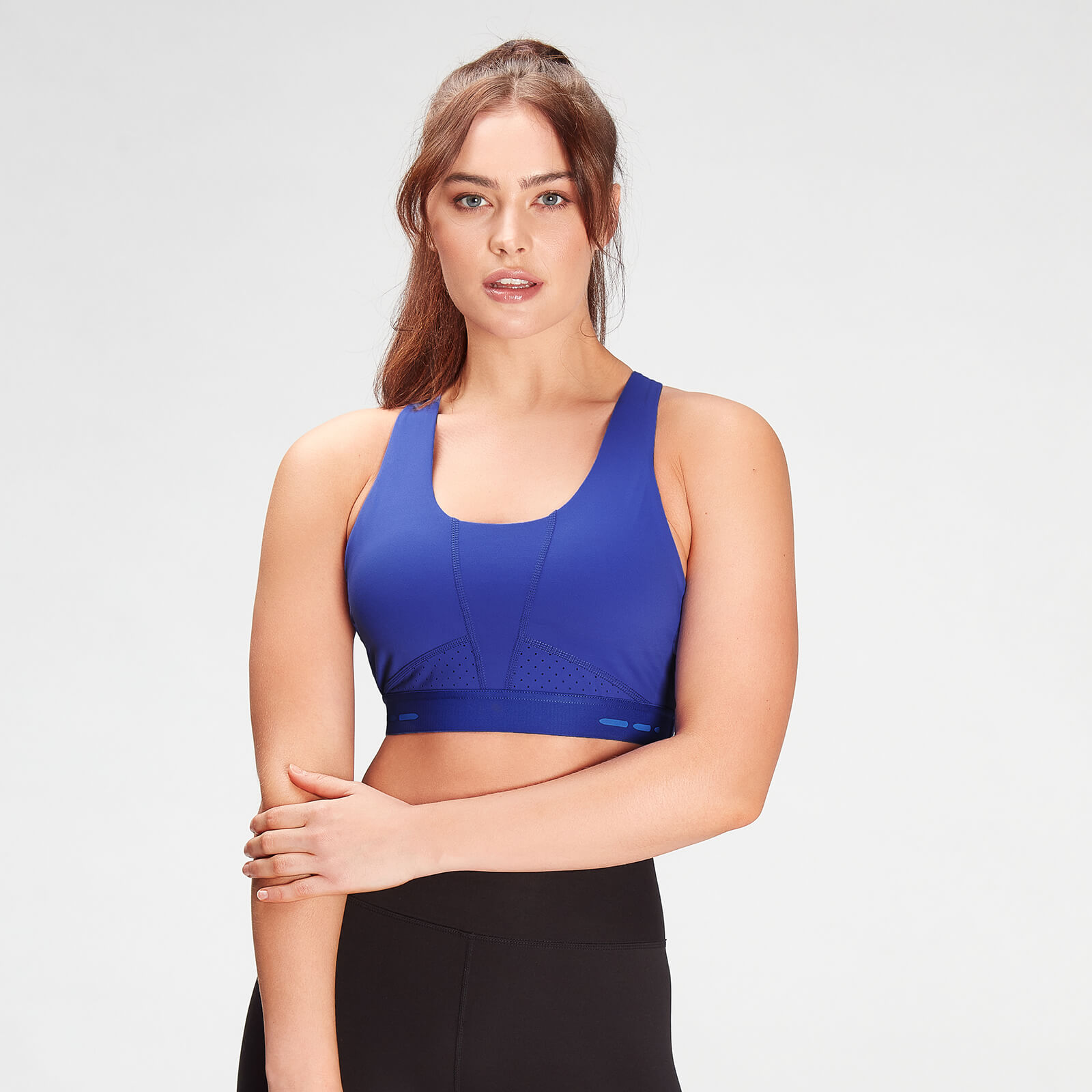 Купить MP Women's Power Ultra Sports Bra- Cobalt - XXS, Myprotein International