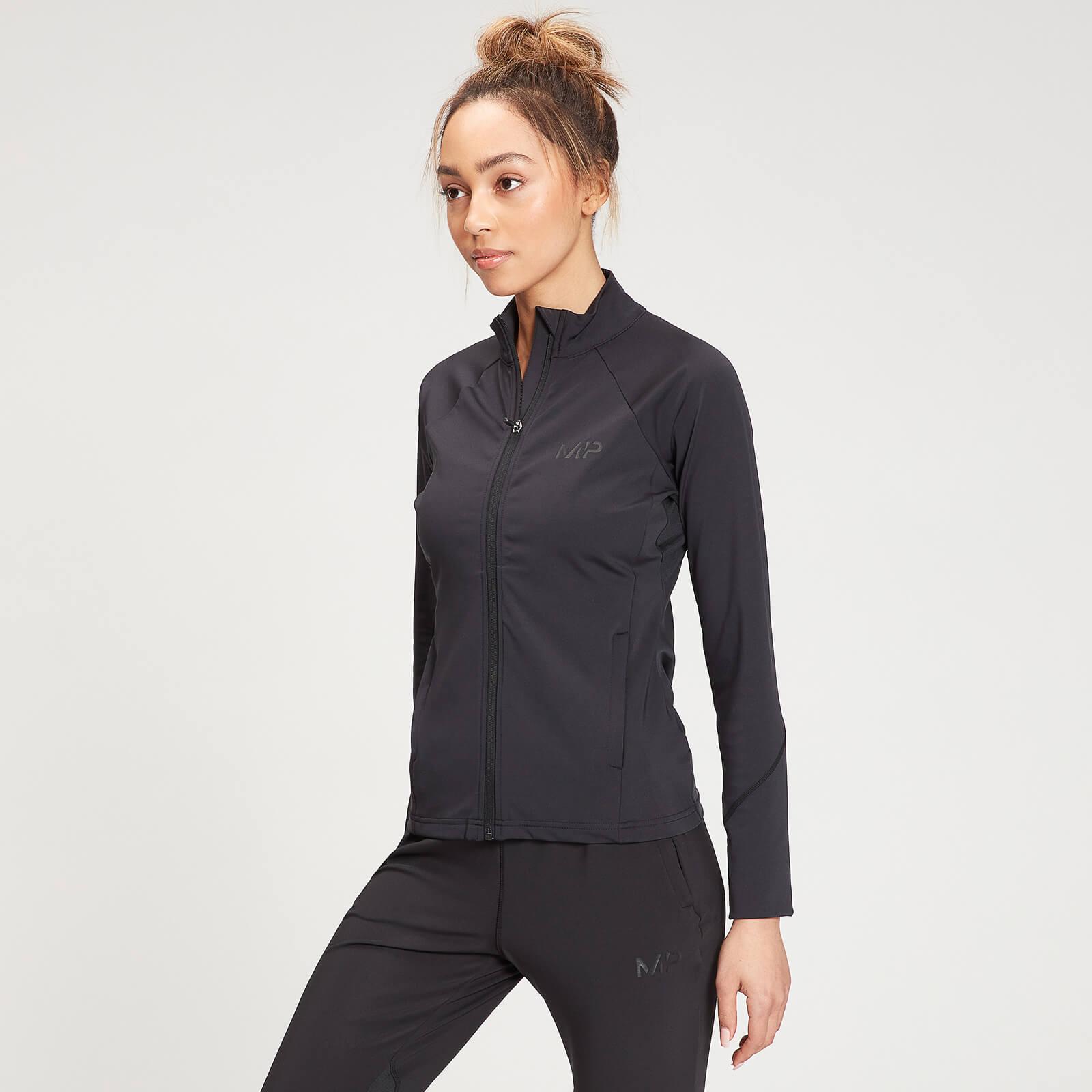 MP Women's Agility Training Jacket - Black - XXS, Myprotein International  - купить со скидкой