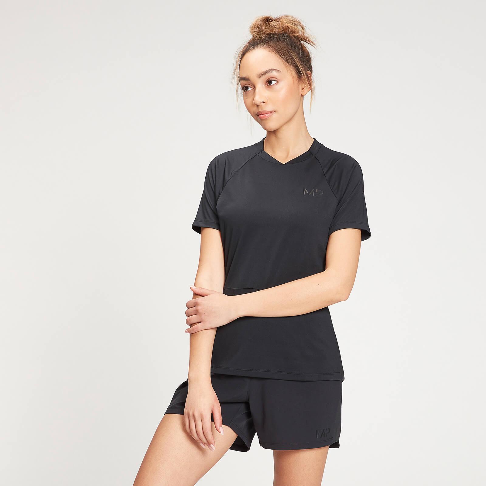 Купить MP Women's Agility Short Sleeve Top - Black - XXS, Myprotein International