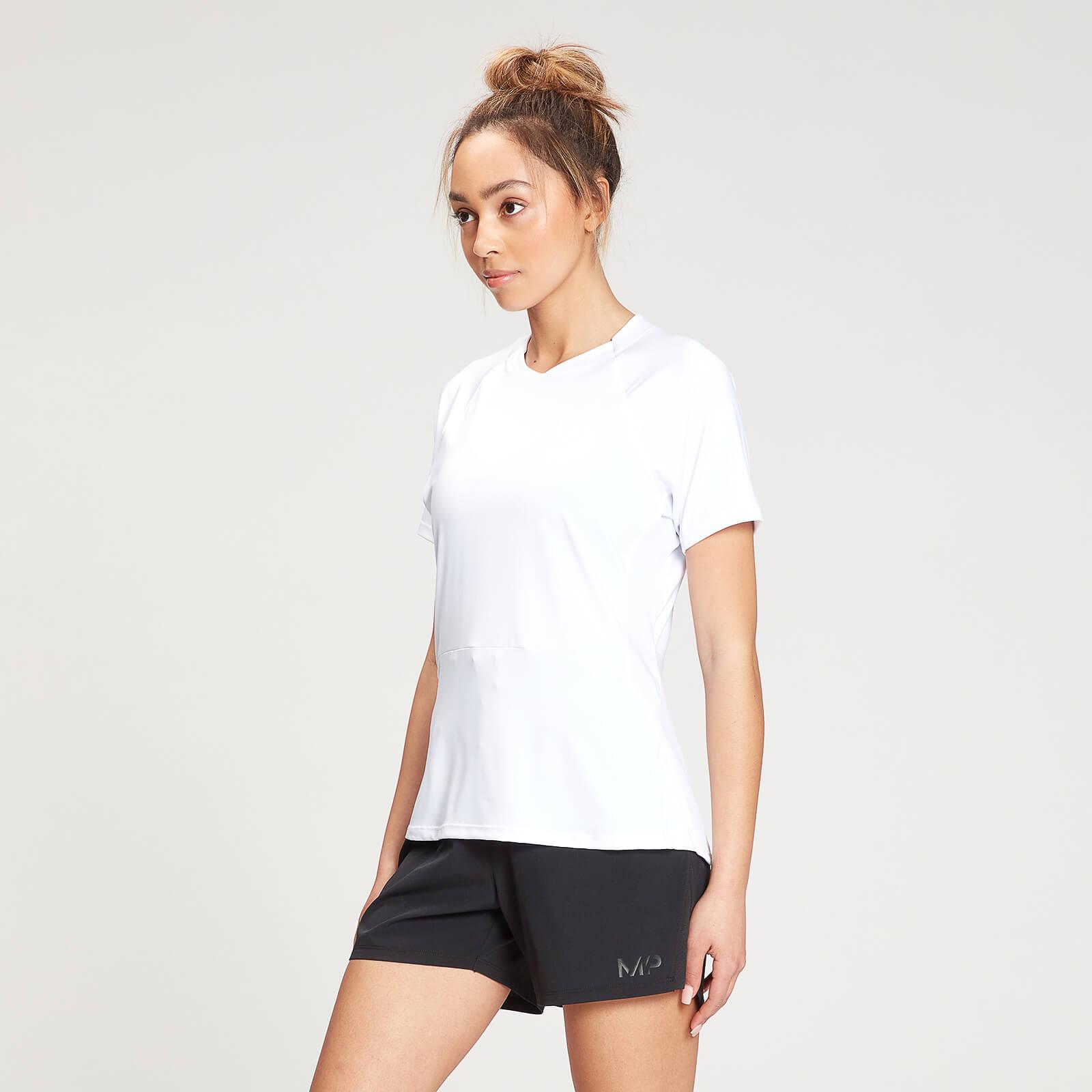 Купить MP Women's Agility Short Sleeve Top - White - XXS, Myprotein International