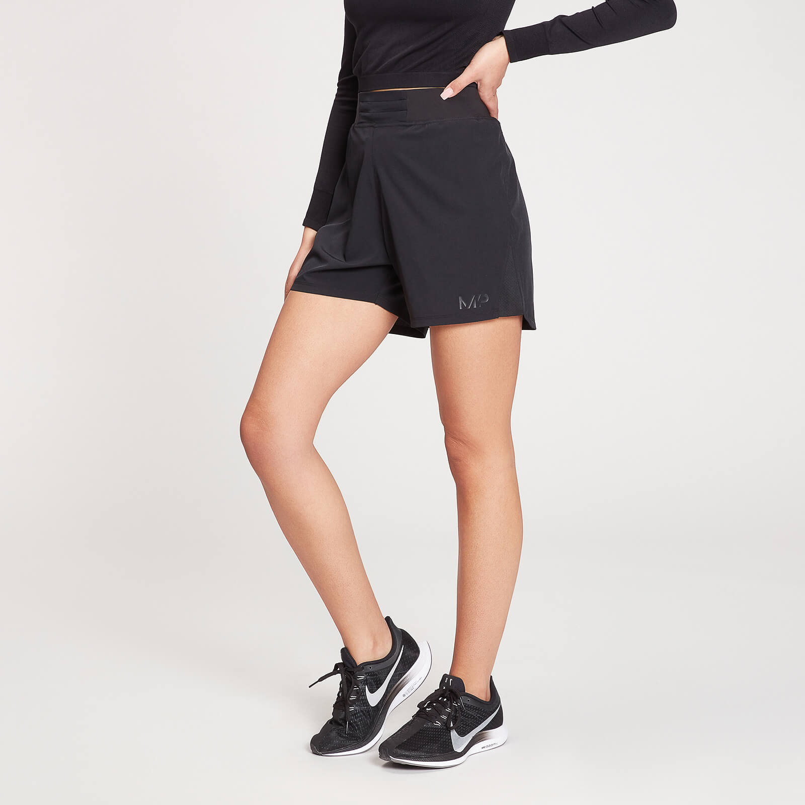 Купить MP Women's Agility Training Shorts - Black - XXS, Myprotein International