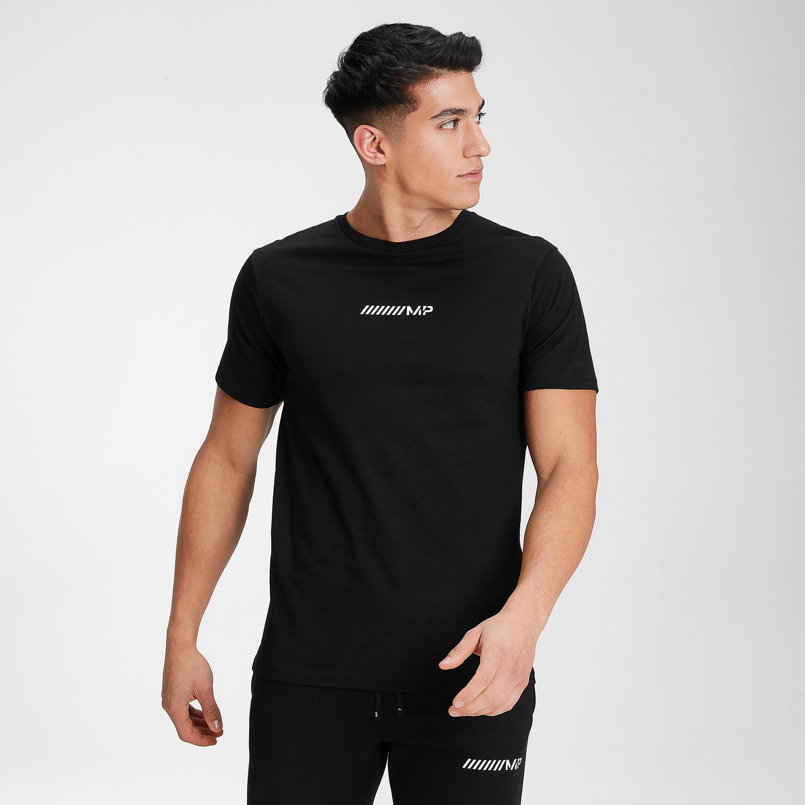 MP Men's Contrast Graphic Short Sleeve T-Shirt - Black - XXL