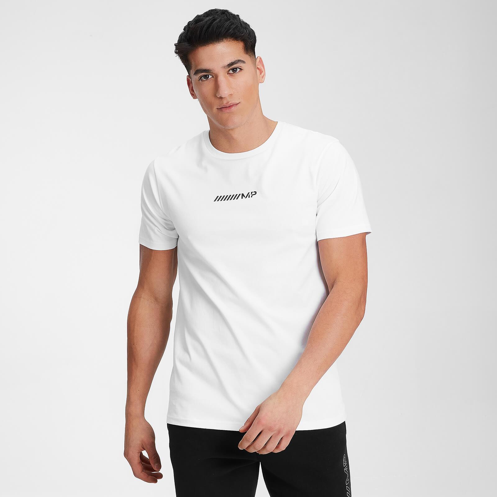 MP Men's Contrast Graphic Short Sleeve T-Shirt - White - XXS