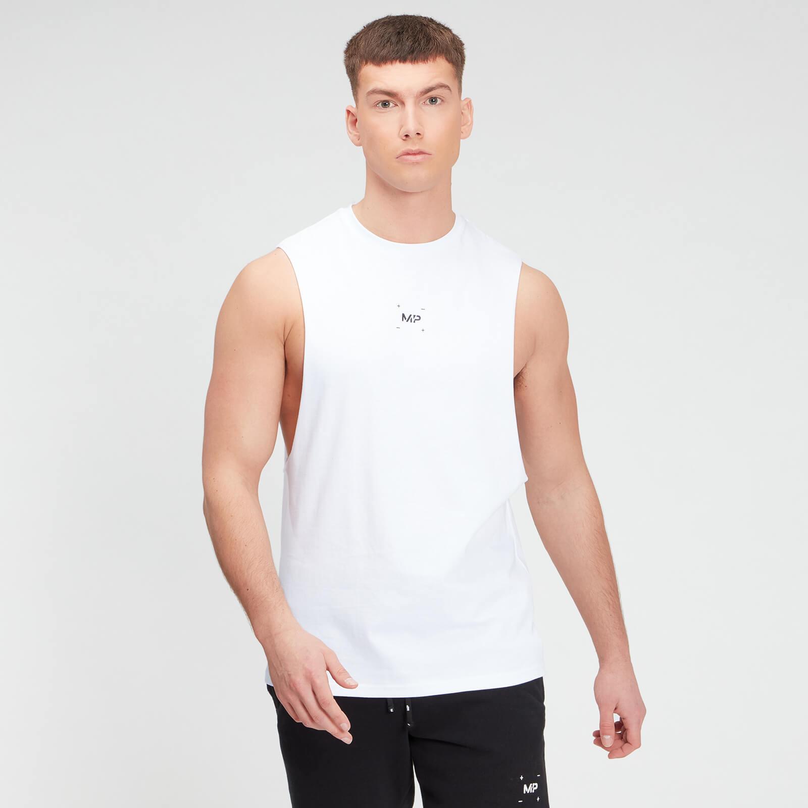 MP Men's Central Graphic Tank - White - XXXL, Myprotein International  - купить со скидкой
