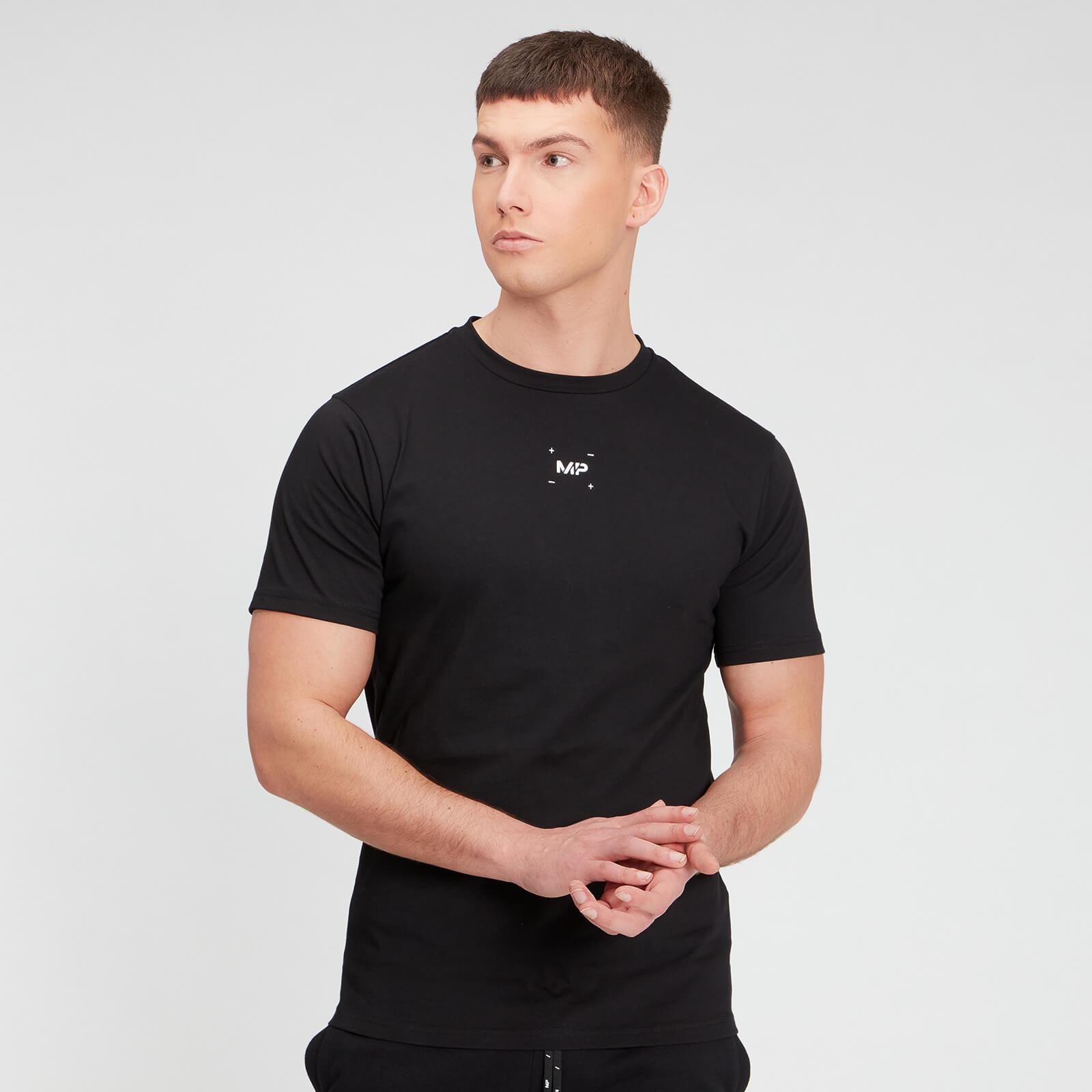 Купить MP Men's Central Graphic Short Sleeve T-Shirt - Black - XXL, Myprotein International