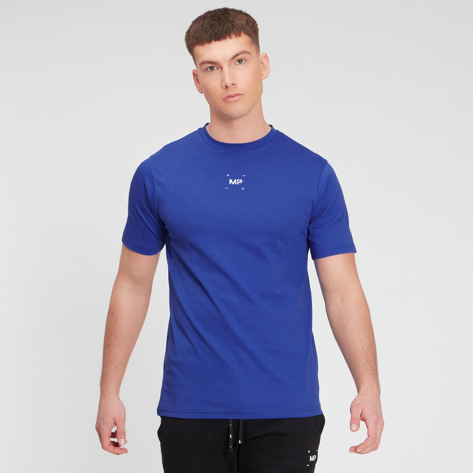 Купить MP Men's Central Graphic Short Sleeve T-Shirt - Cobalt - XXXL, Myprotein International