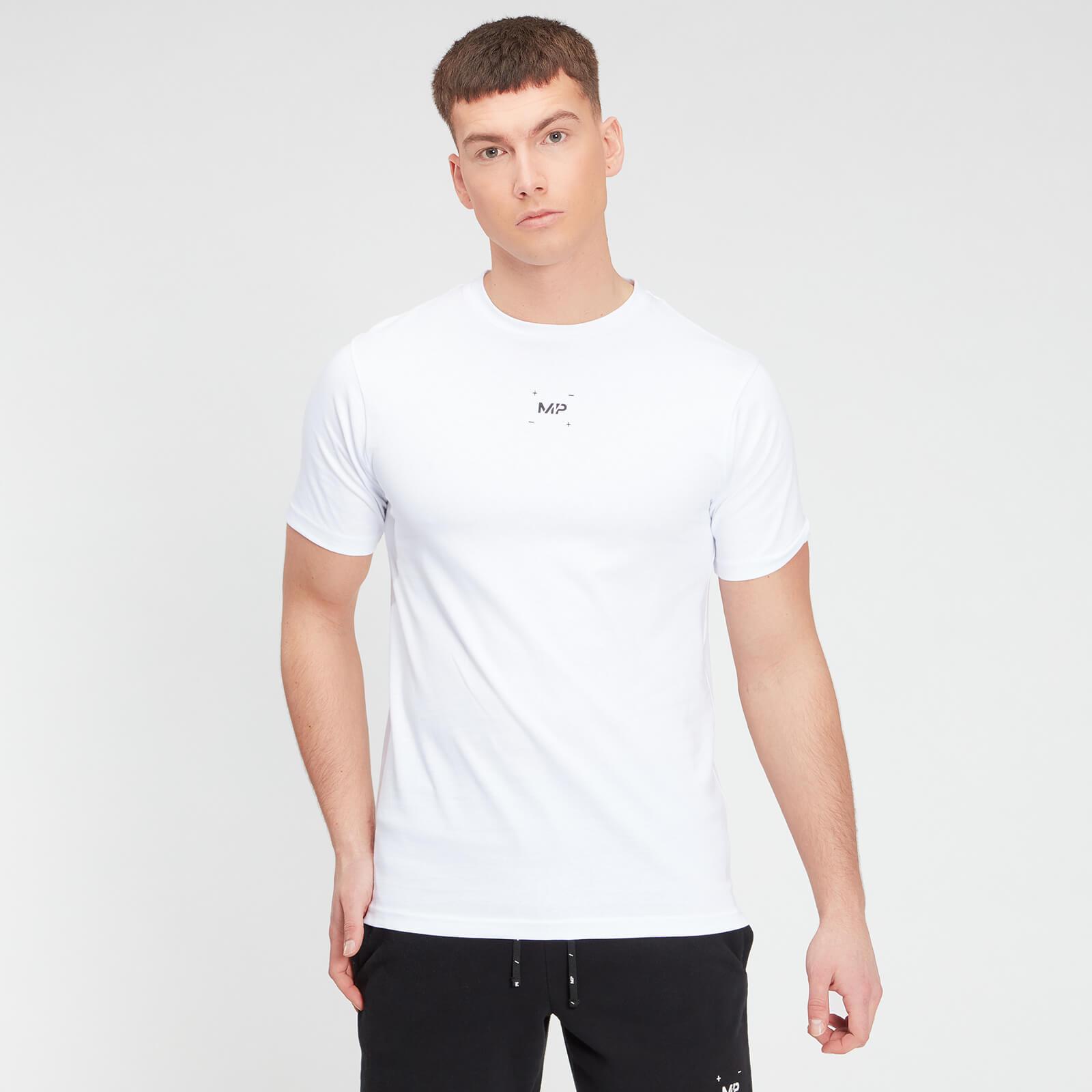 Купить MP Men's Central Graphic Short Sleeve T-Shirt - White - XXXL, Myprotein International