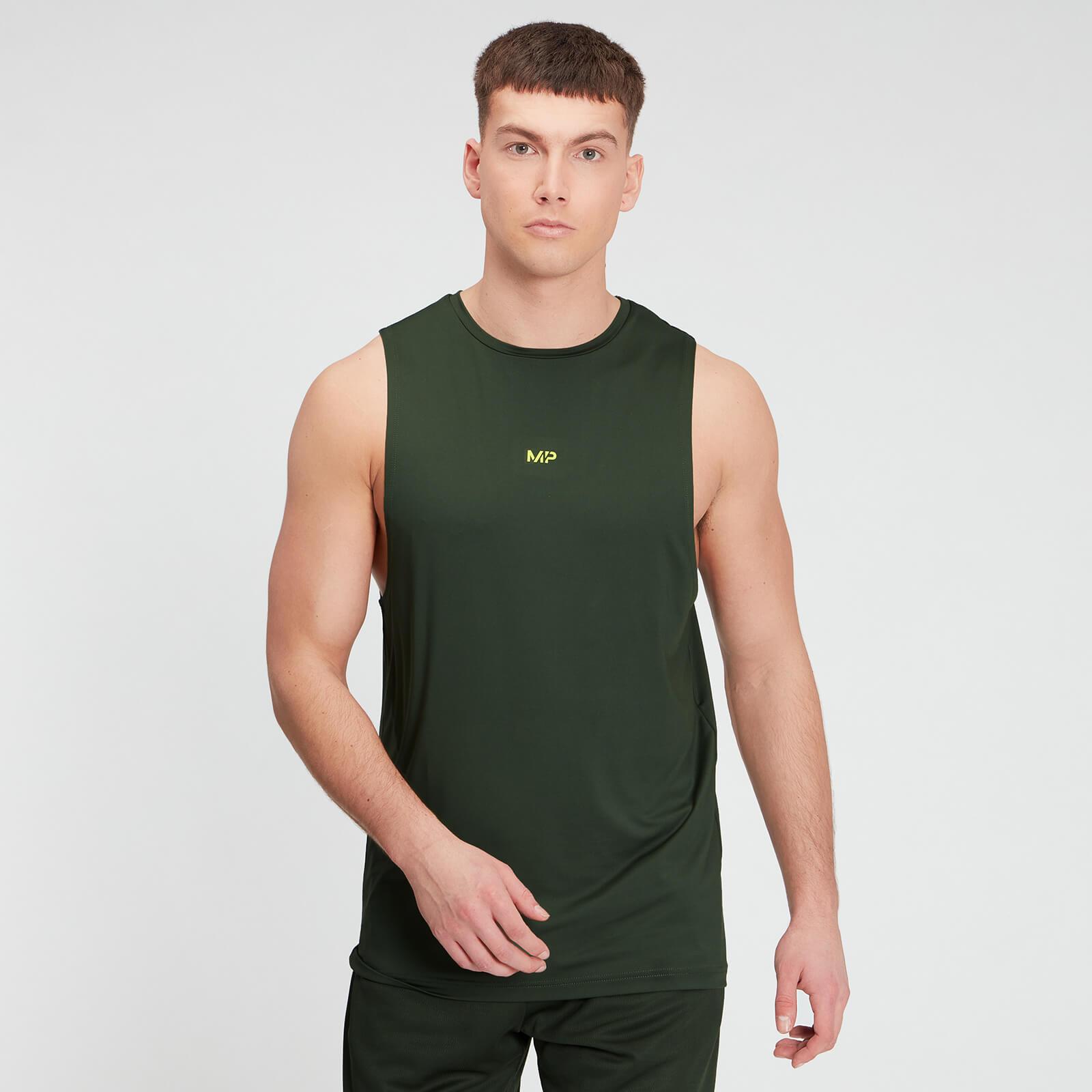 Купить MP Men's Graphic Training Tank - Dark Green - XXL, Myprotein International