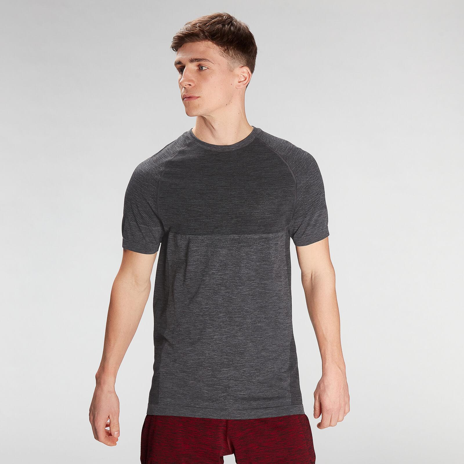 Купить MP Men's Essential Seamless Short Sleeve T-Shirt- Storm Grey Marl - XXL, Myprotein International