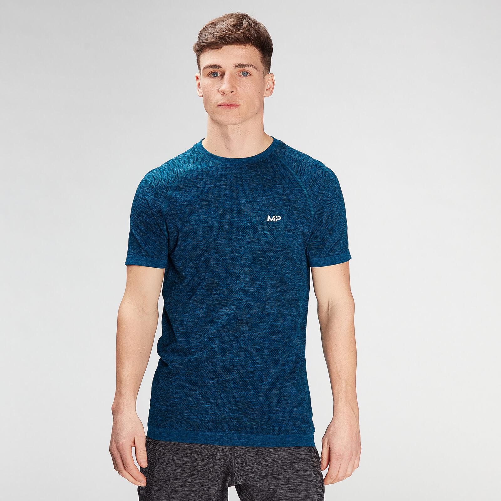 Купить MP Men's Essential Seamless Graphic Short Sleeve T-Shirt- Aqua - XS, Myprotein International