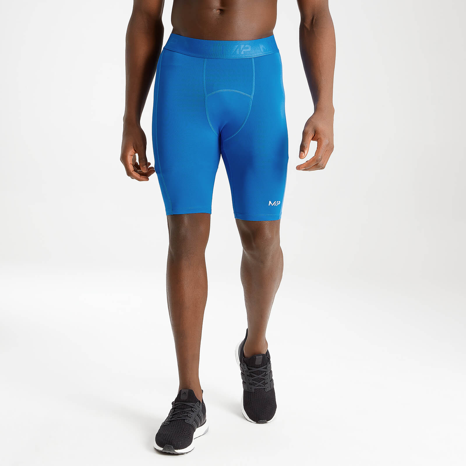 MP Men's Essentials Base Layer Shorts - True Blue - XXS