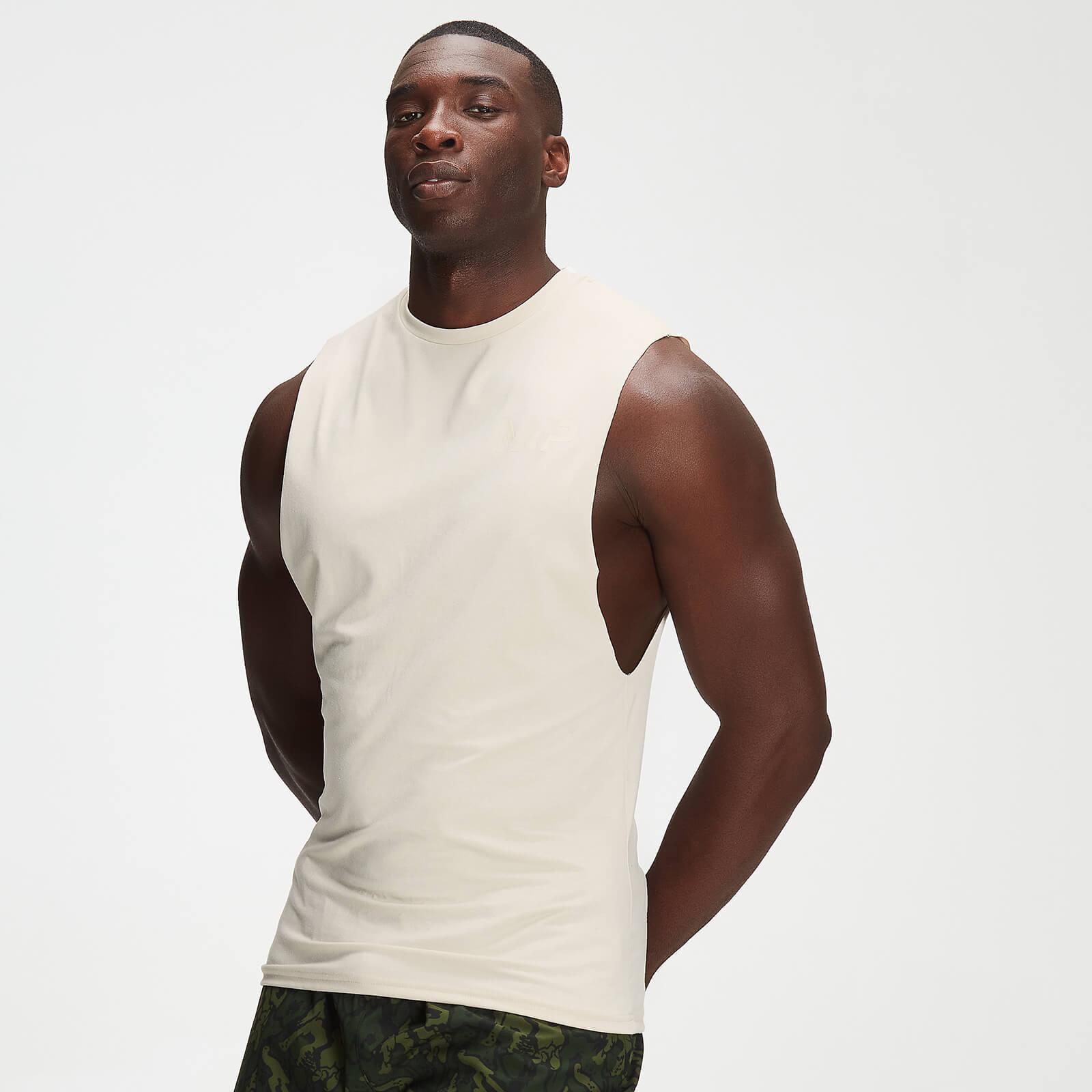 Débardeur à imprimé camouflage ton sur ton MP Adapt drirelease® pour hommes – Écru - XXL