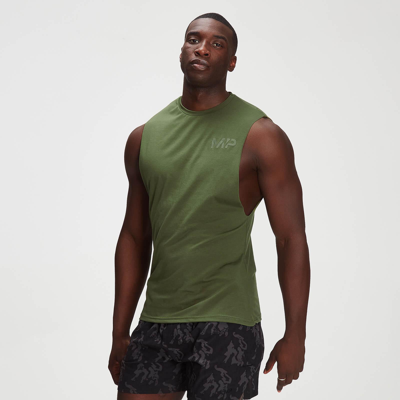 Débardeur à imprimé camouflage ton sur ton MP Adapt drirelease® pour hommes – Vert feuille - XXL