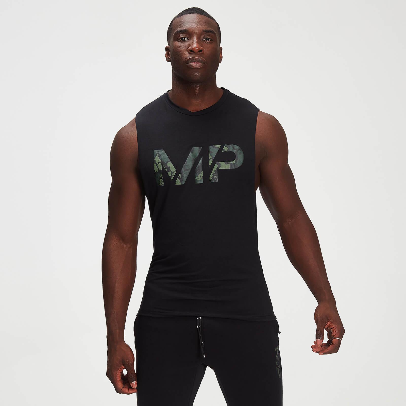 Débardeur à imprimé camouflage MP Adapt drirelease® pour hommes – Noir - XXL