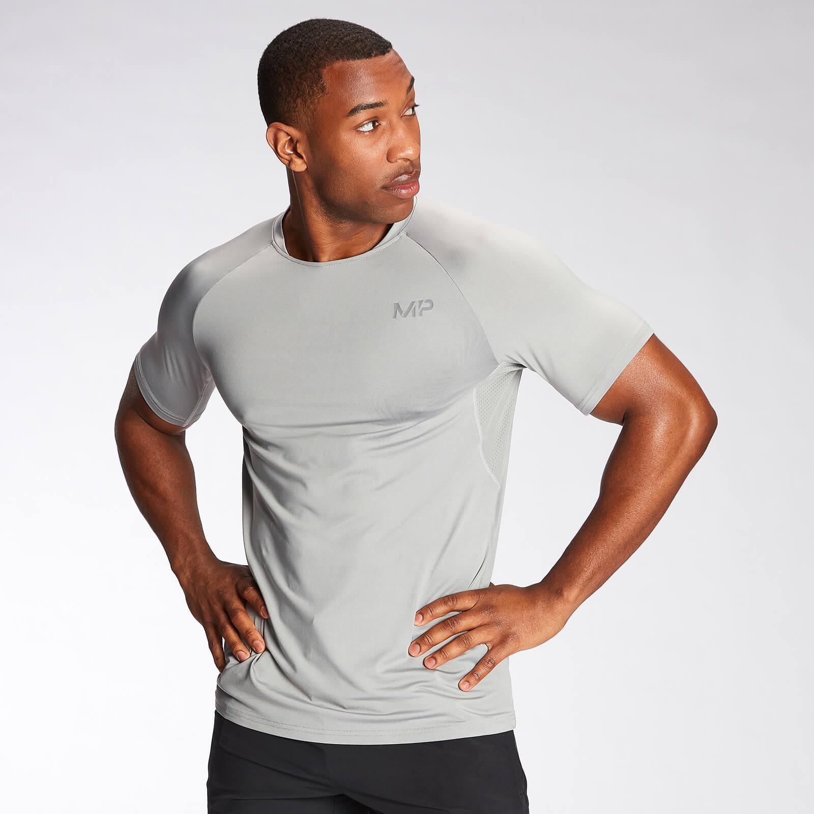 Купить MP Men's Agility Short Sleeve T-Shirt - Storm - XXL, Myprotein International