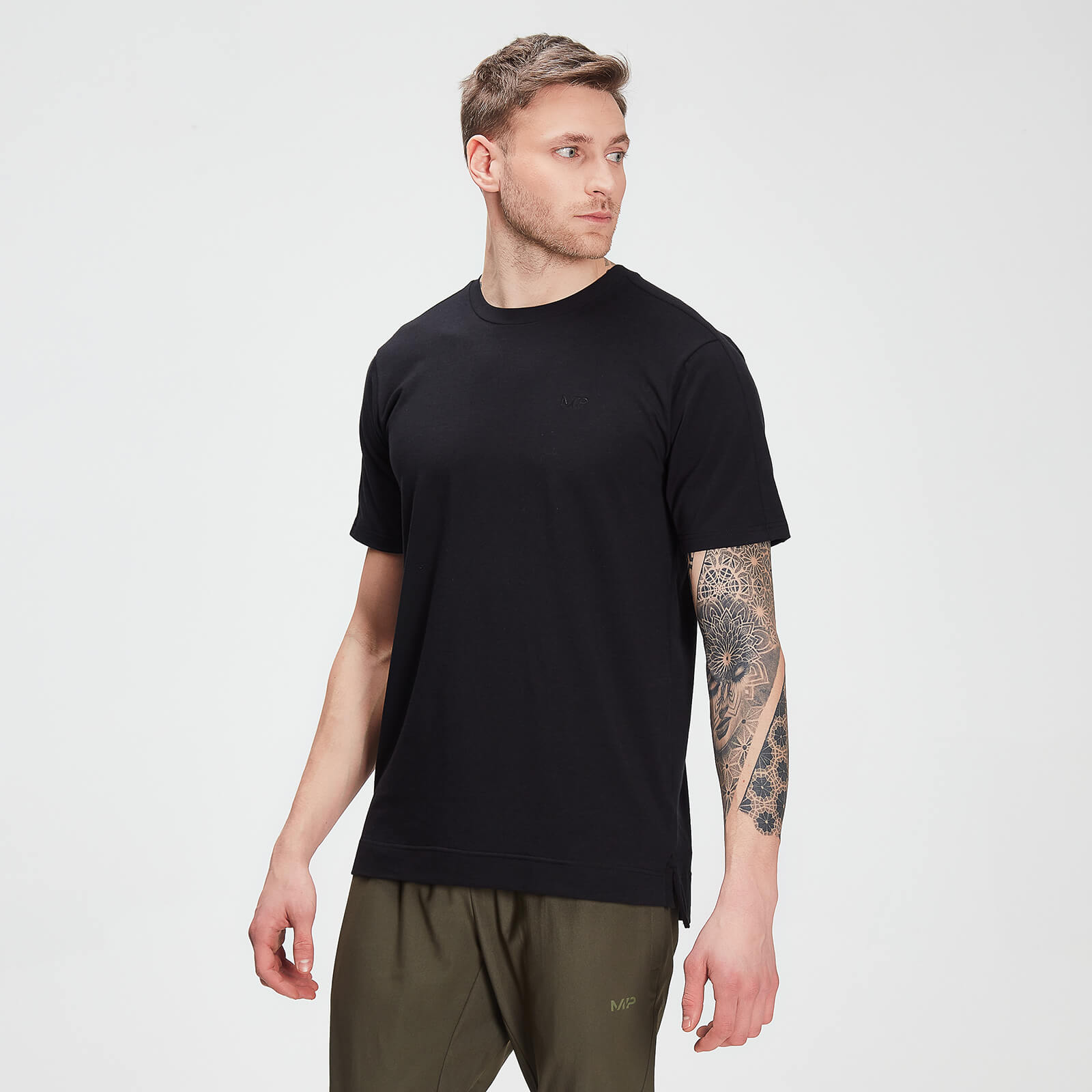 Купить MP Men's Raw Training drirelease® Short Sleeve T-Shirt - Black - XL, Myprotein International