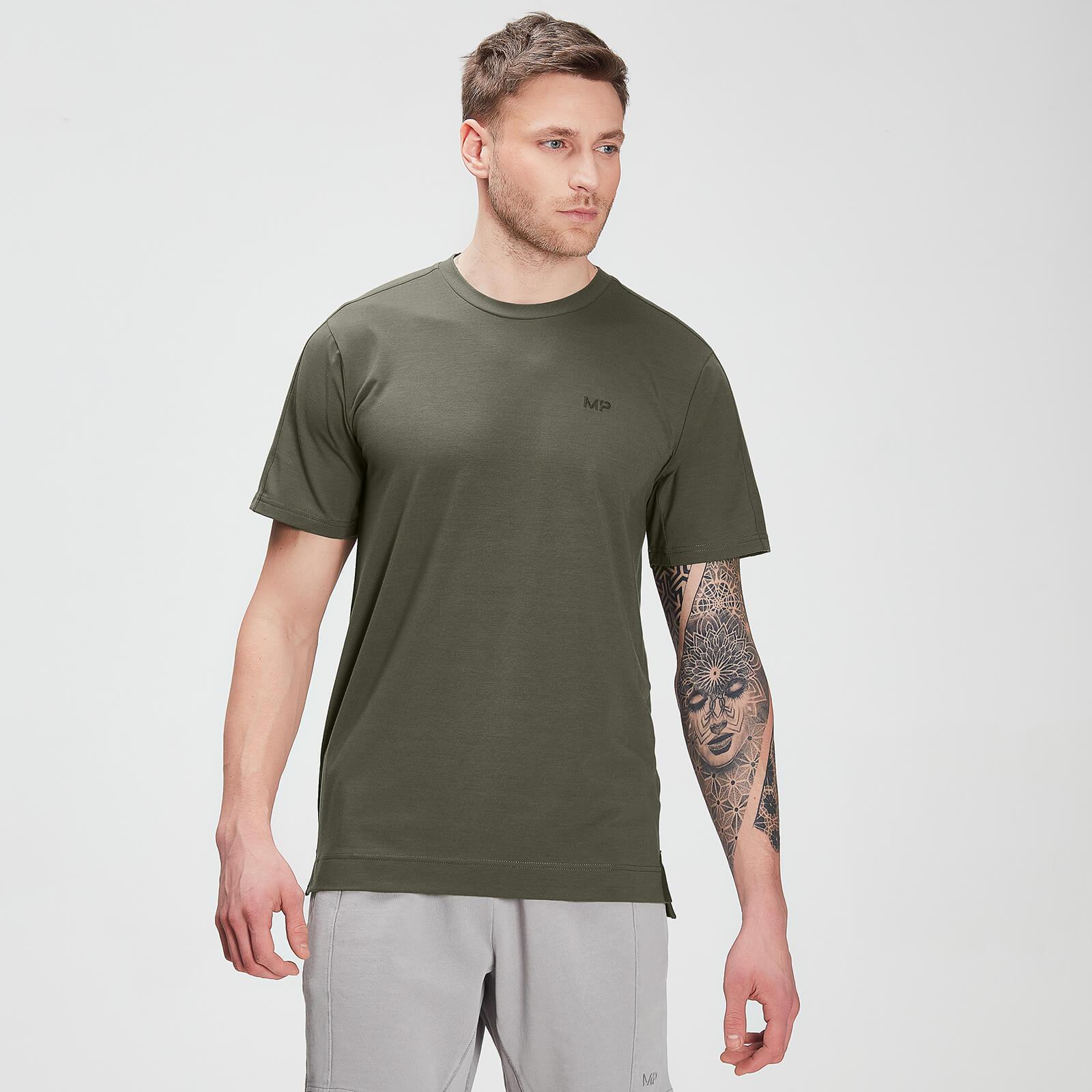 Купить MP Men's Raw Training drirelease® Short Sleeve T-shirt – Dark Olive - XXXL, Myprotein International