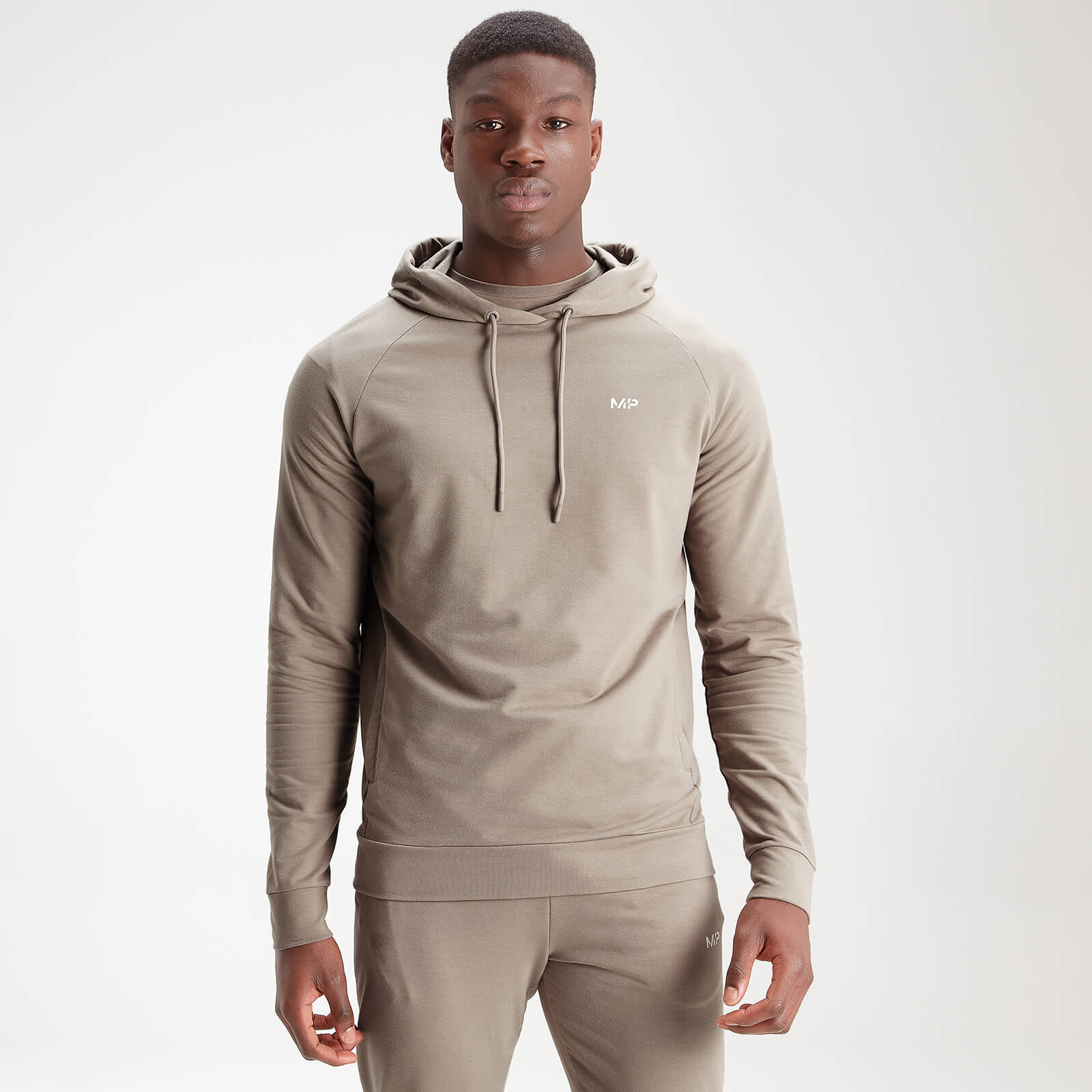 MP Men's Form Pullover Hoodie - Taupe - S