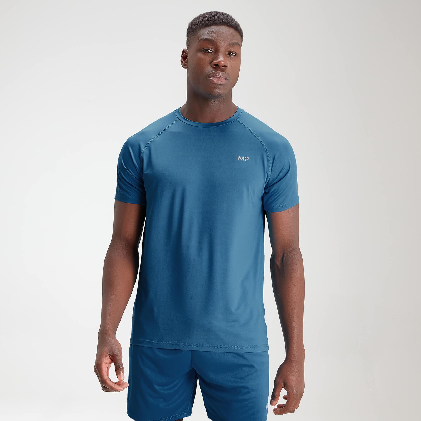 MP Mens Essentials Training Short Sleeve T-Shirt - Aqua - XS
