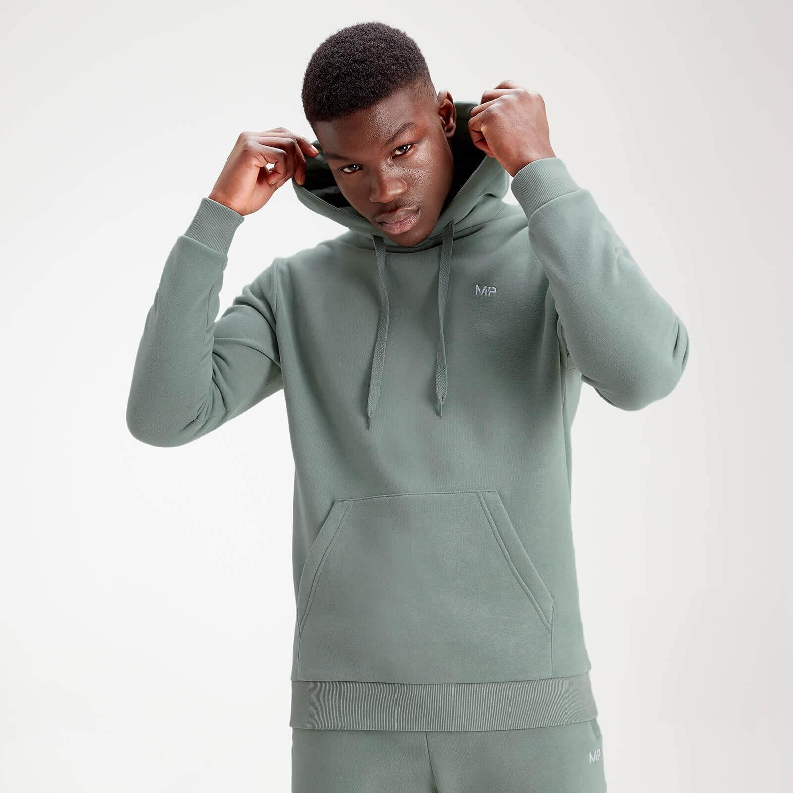 MP Men's Essentials Hoodie – Washed Green - M