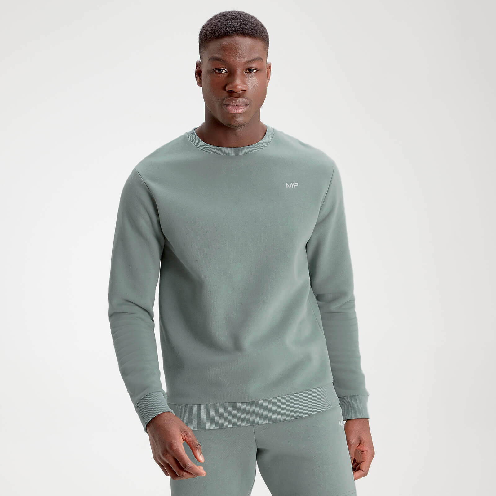MP Men's Essentials Sweater - Washed Green - XL
