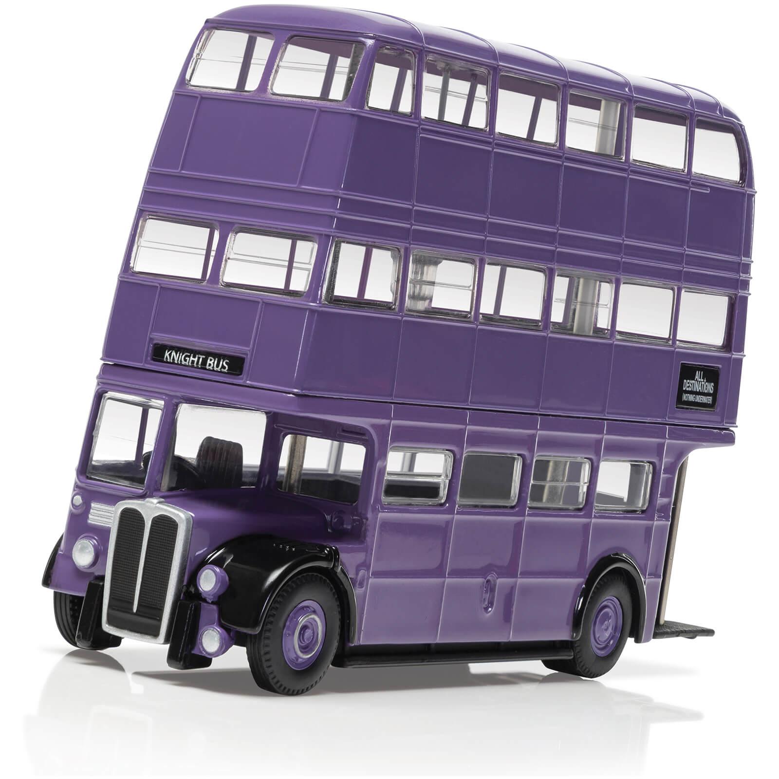 Image of Harry Potter Triple Decker Knight Bus Model Set - Scale 1:76