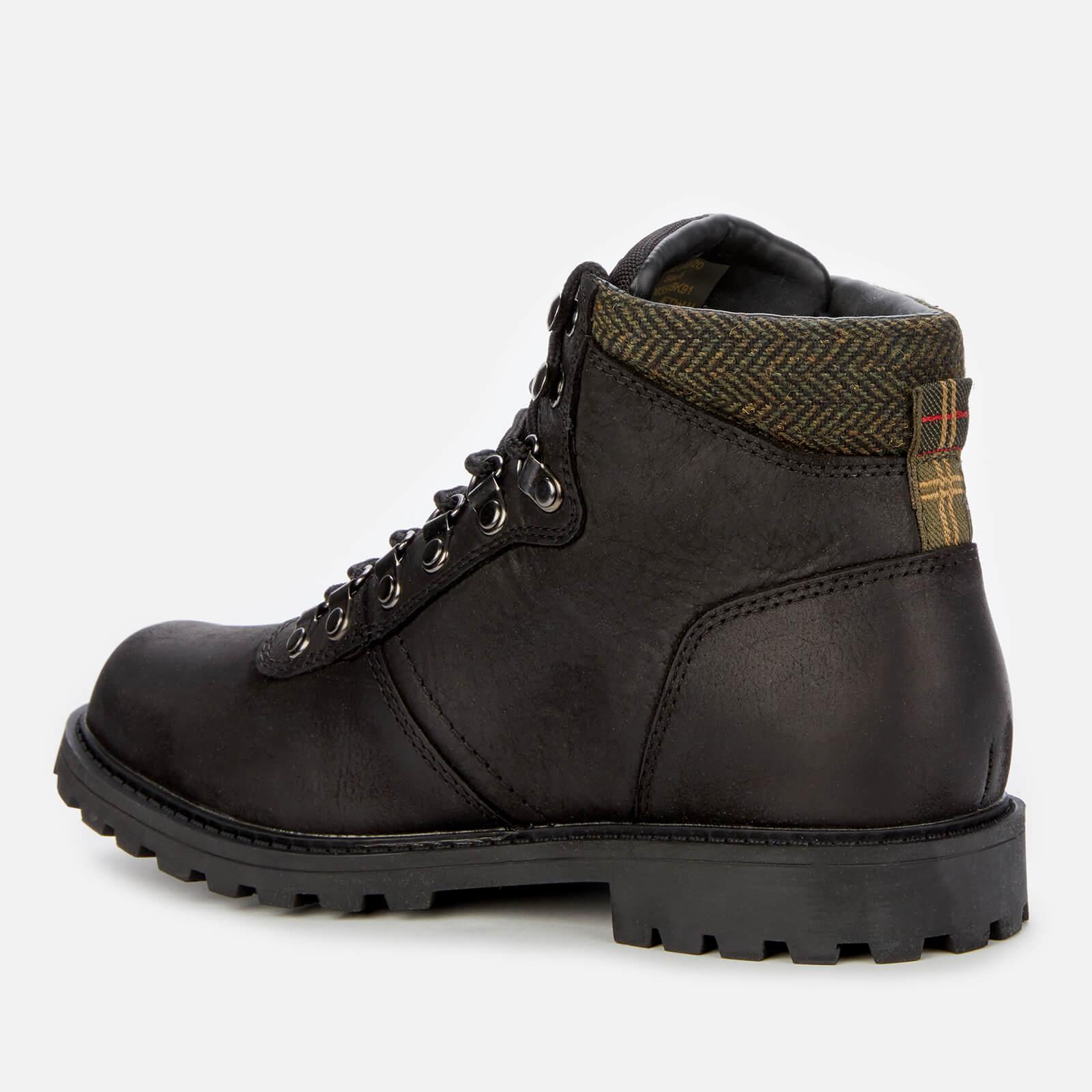 Barbour Women's Elsdon Hiker Style Ankle Boots - Black - Uk 3