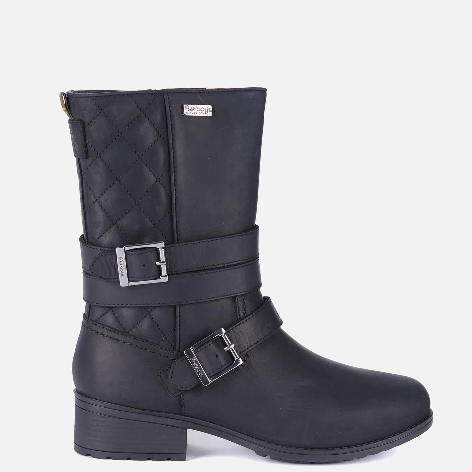 Barbour Women's Garda Ankle Boots - Black - Uk 4