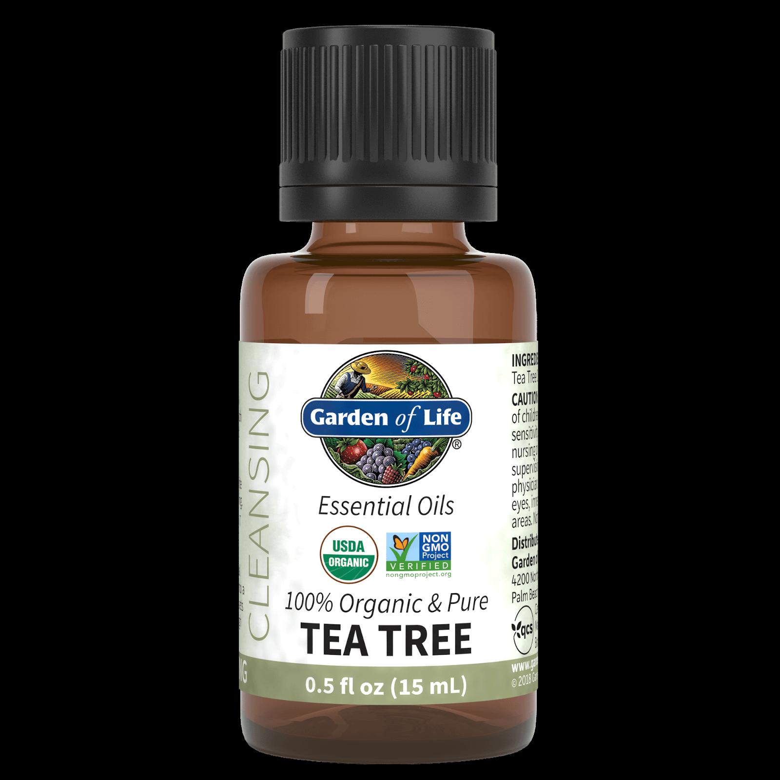 Garden of Life Organic Essential Oil - Tea Tree - 15ml