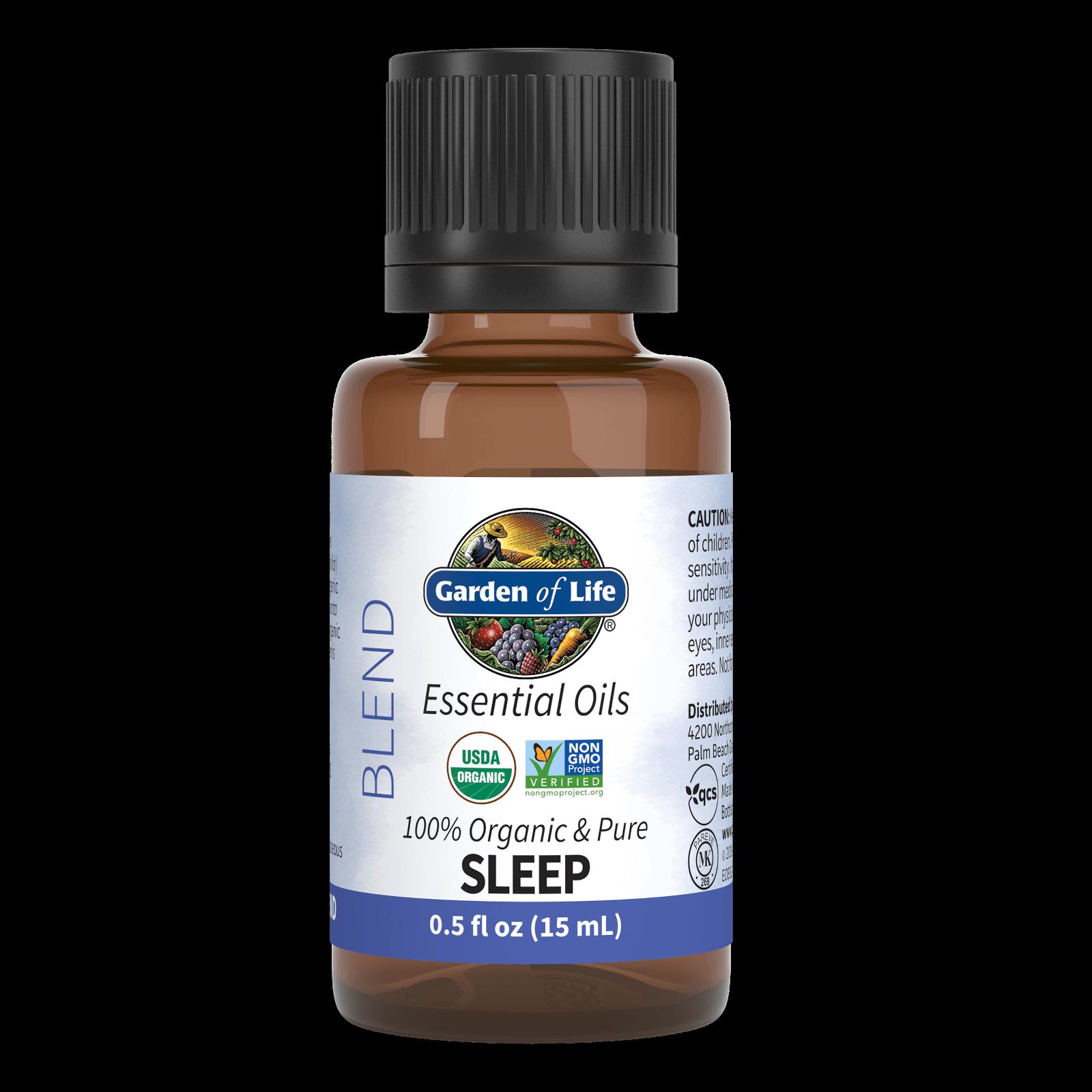 Garden of Life Organic Essential Oil Blend - Sleep - 15ml