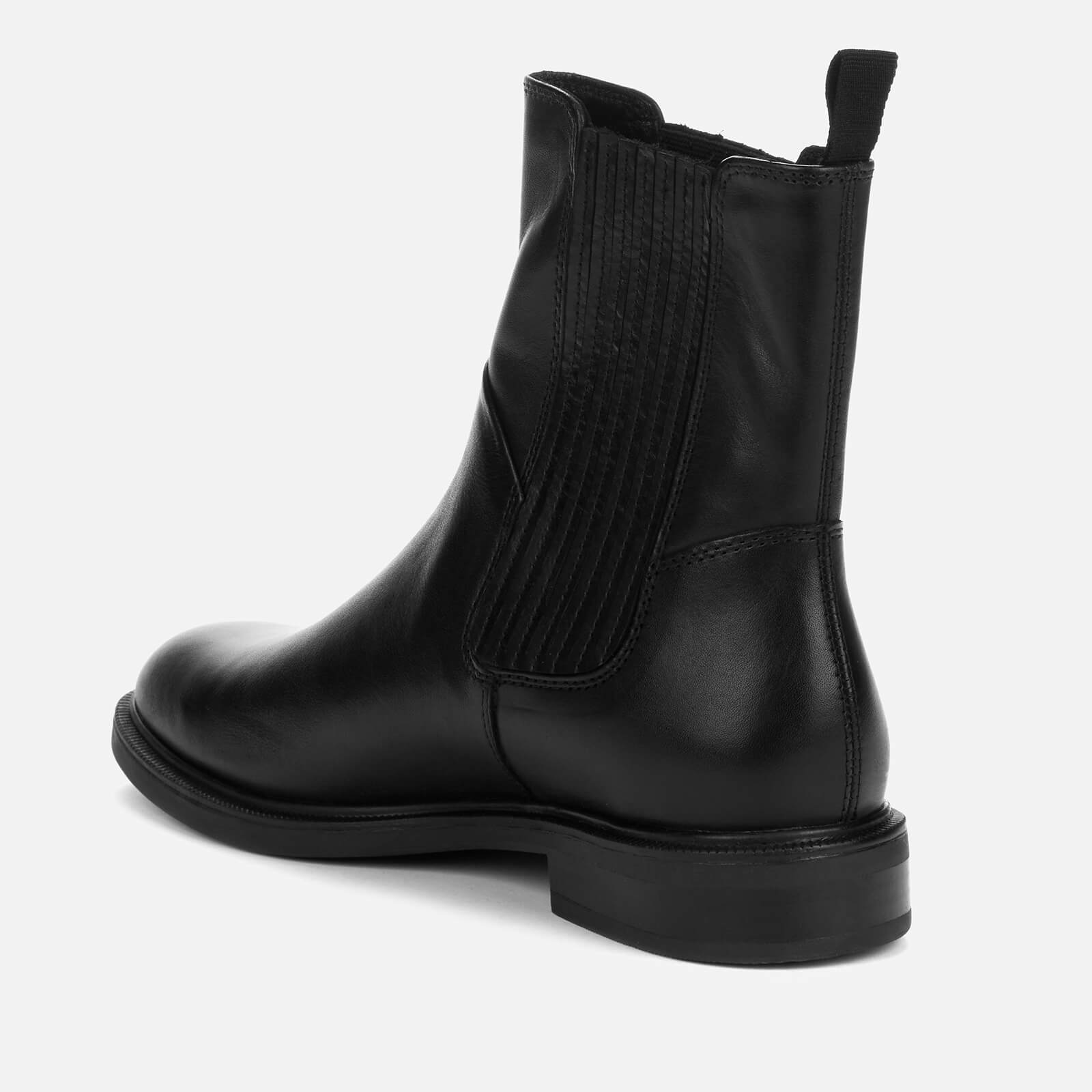 Vagabond Women's Amina Leather Chelsea Boots - Black - Uk 7