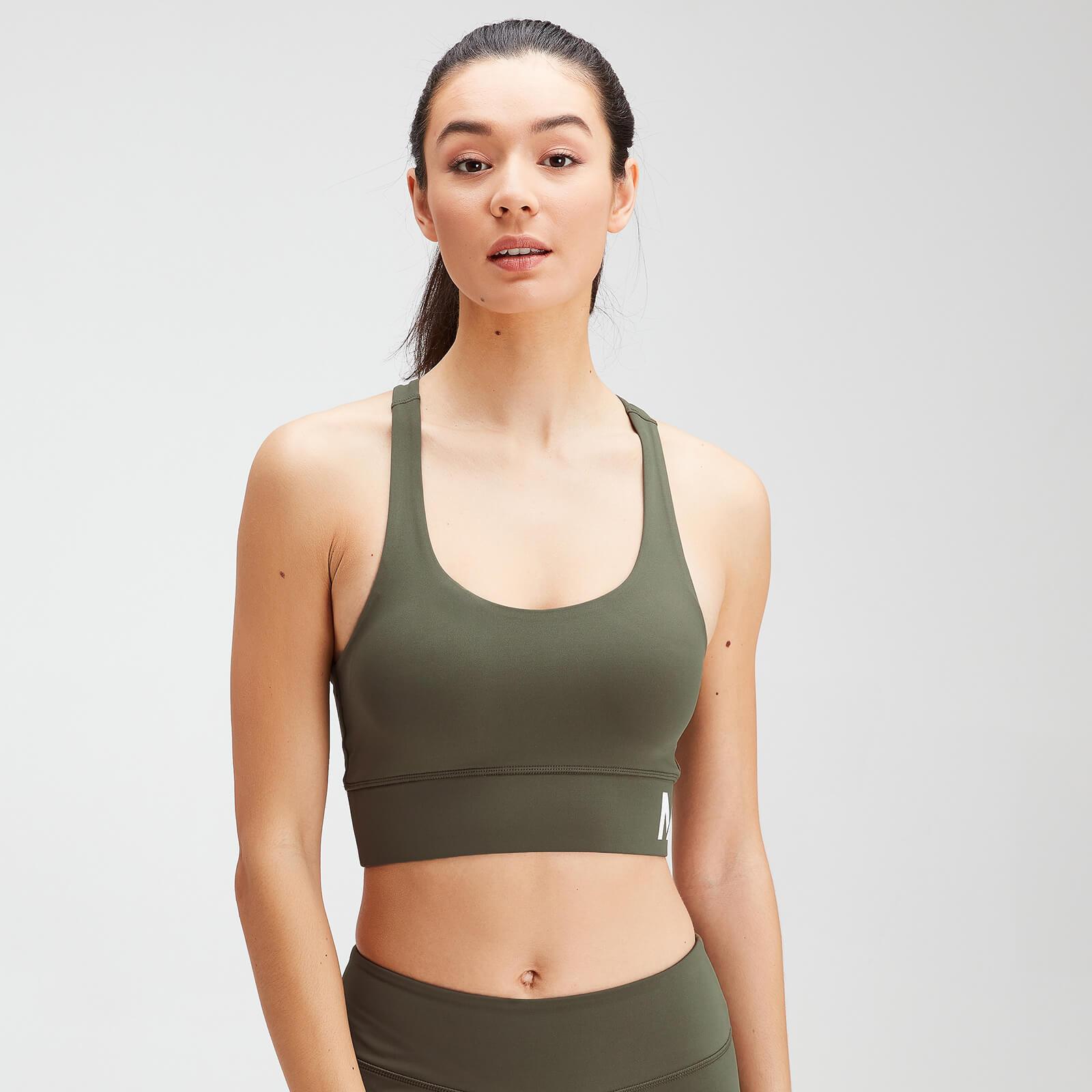 Купить MP Women's Essentials Training Sports Bra - Dark Olive - XXL, Myprotein International
